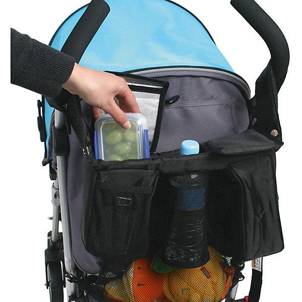 Сумка-пенал,  Valco babyАксессуары для колясок<br>Коляска – незаменимая вещь для молодых родителей. Аксессуары для коляски значительно упрощают жизнь. В настоящее время существует огромное количество всевозможных аксессуаров для колясок, поэтому важно выбрать лучший из них. Сумка – пенал позволит хранить горячие и холодные бутылки в удобном положении. Карманы изолированы друг от друга. Для хранения мелочей есть специальный миниатюрный карман. Для хранения крупных вещей есть большой сетчатый отдел. Приятный бонус – гелевые охладители, которые укладываются на дно каждого кармана. <br><br>Дополнительная информация: <br><br>цвет: черный;<br>совместимость: для всех типов колясок;<br><br>Сумку-пенал Stroller Caddy от компании Valco Baby можно приобрести в нашем магазине.<br>Ширина мм: 330; Глубина мм: 160; Высота мм: 95; Вес г: 980; Возраст от месяцев: 0; Возраст до месяцев: 36; Пол: Унисекс; Возраст: Детский; SKU: 4998037;