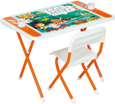 Дэми Набор детской складной мебели Джейк и пираты нетландии, Dami, оранжевый