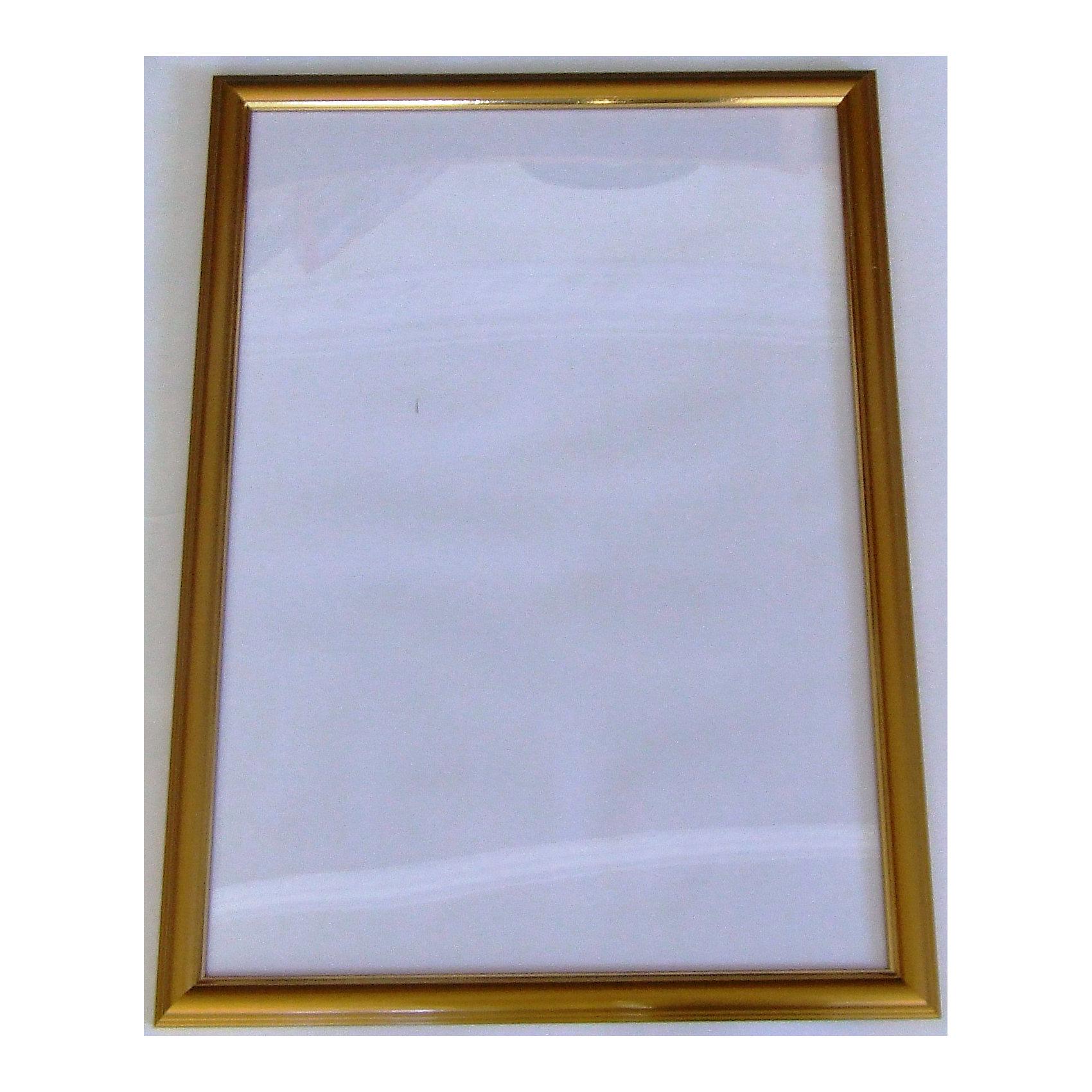 Рамка для пазла 1000/1500 деталей, 48х68см, золотого цвета