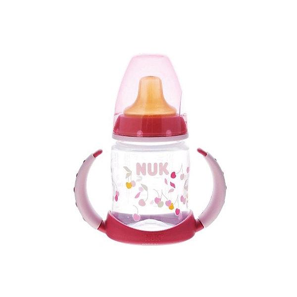 Бутылочка First Choice пласт. (ПП) 150 мл., NUK, зеленый110 - 180 мл.<br>Бутылочка First Choice пласт. (ПП) 150 мл. от известного производителя высококачественных товаров для новорожденных NUK (Нук). Эта оригинальная бутылочка с латексной насадкой для питья идеально подходит деткам на смешанном питании. Удобные ручки понравятся малышу – за них очень удобно хвататься и они не скользят. Безопасные материалы и отсутствие в составе бутылочки и соски бисфенола А отвечают всем необходимым стандартам. Специальное строение соски позволяет адаптироваться под ротик малыша и оставляют место для языка. Отверстие для воздуха предотвращает заглатывание воздуха вместе с сосанием и снижает риск возникновения колик у крохи. Удобный колпачок бутылочки сохранит гигиену бутылочки и позволяет брать бутылочку с собой, а закупоривающее кольцо позволит бутылочке быть закрытой даже без колпачка. К бутылочки подходят любые соски из серии NUK First Choice.<br><br>Дополнительная информация:<br><br>- Материал: латекс, пластик<br>- Объем: 150 мл. <br><br>Бутылочку First Choice пласт. (ПП) 150 мл., NUK (Нук) можно купить в нашем интернет-магазине.<br>Подробнее:<br>• Для детей в возрасте: от 6  месяцев<br>• Номер товара: 4998398<br>Страна производитель: Германия<br>Ширина мм: 120; Глубина мм: 65; Высота мм: 185; Вес г: 133; Возраст от месяцев: -2147483648; Возраст до месяцев: 2147483647; Пол: Унисекс; Возраст: Детский; SKU: 4998398;