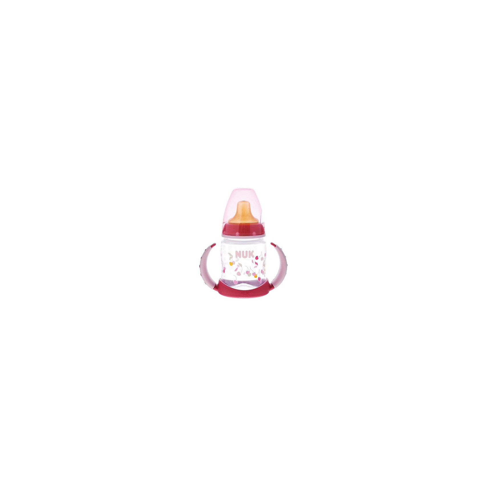Бутылочка First Choice пласт. (ПП) 150 мл., NUK, зеленыйБутылочки и аксессуары<br>Бутылочка First Choice пласт. (ПП) 150 мл. от известного производителя высококачественных товаров для новорожденных NUK (Нук). Эта оригинальная бутылочка с латексной насадкой для питья идеально подходит деткам на смешанном питании. Удобные ручки понравятся малышу – за них очень удобно хвататься и они не скользят. Безопасные материалы и отсутствие в составе бутылочки и соски бисфенола А отвечают всем необходимым стандартам. Специальное строение соски позволяет адаптироваться под ротик малыша и оставляют место для языка. Отверстие для воздуха предотвращает заглатывание воздуха вместе с сосанием и снижает риск возникновения колик у крохи. Удобный колпачок бутылочки сохранит гигиену бутылочки и позволяет брать бутылочку с собой, а закупоривающее кольцо позволит бутылочке быть закрытой даже без колпачка. К бутылочки подходят любые соски из серии NUK First Choice.<br><br>Дополнительная информация:<br><br>- Материал: латекс, пластик<br>- Объем: 150 мл. <br><br>Бутылочку First Choice пласт. (ПП) 150 мл., NUK (Нук) можно купить в нашем интернет-магазине.<br>Подробнее:<br>• Для детей в возрасте: от 6  месяцев<br>• Номер товара: 4998398<br>Страна производитель: Германия<br><br>Ширина мм: 120<br>Глубина мм: 65<br>Высота мм: 185<br>Вес г: 133<br>Возраст от месяцев: -2147483648<br>Возраст до месяцев: 2147483647<br>Пол: Унисекс<br>Возраст: Детский<br>SKU: 4998398