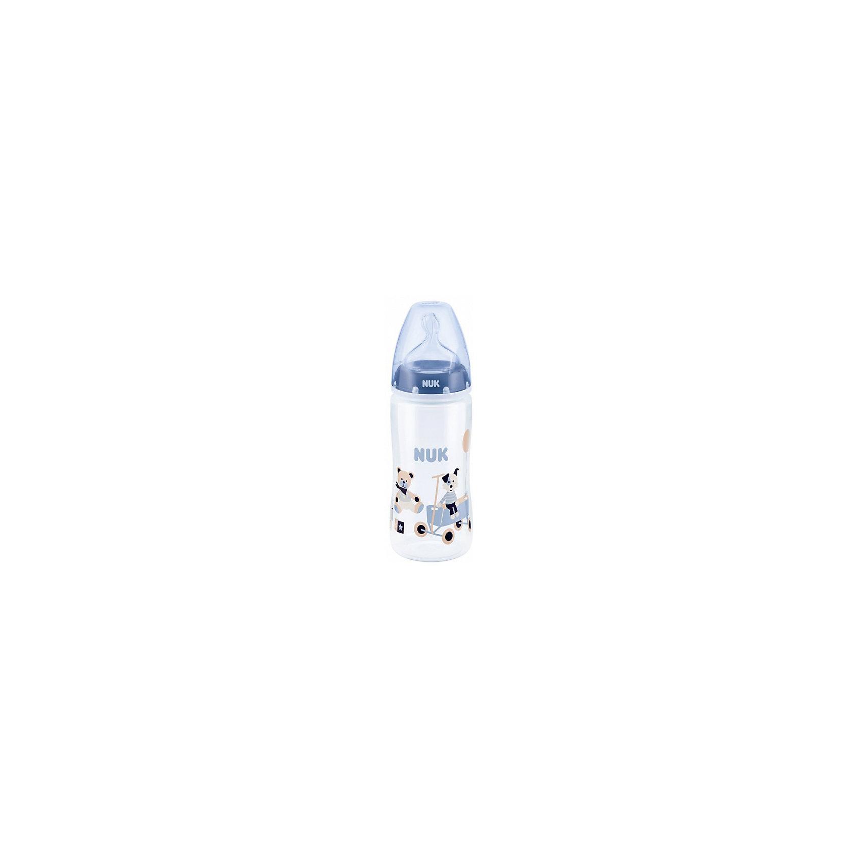 Бутылочка First Choice Plus, средний поток, 300 мл., NUK, синийБутылочки и аксессуары<br>Бутылочка First Choice Plus пласт. (ПП) 300 мл с сил. соской М р-р 1, от известного немецкого производителя высококачественных товаров для новорожденных NUK (Нук). Эта бутылочка представлена в современных цветовых гаммах и придет по вкусу как родителям, так и малышам. Безопасные материалы бутылочки соответствуют европейским стандартам качества и не содержат бисфенол А. Соска выполнена из силикона, полностью прозрачна и не имеет собственного вкуса или запаха. Ортодонтическая форма соски подстраивается под ротик малыша и оставляет место для движения языка. Специально разработанная схема строения соски не пропускает воздух вместе с пищей, предотвращая появление коликов. Превосходное качество и безопасность для вашего малыша.<br><br>Дополнительная информация:<br><br>- Состав: силикон, пластик<br>- Объем бутылочки: 300 мл.<br>- Размер соски: 1<br>- Отверстие для пищи: среднее, М<br><br>Бутылочку First Choice Plus пласт. (ПП) 300 мл с сил. соской М р-р 1, NUK (Нук) можно купить в нашем интернет-магазине.<br>Подробнее:<br>• Для детей в возрасте: от 0 месяцев<br>• Номер товара: 4998404<br>Страна производитель: Германия<br><br>Ширина мм: 75<br>Глубина мм: 65<br>Высота мм: 245<br>Вес г: 115<br>Возраст от месяцев: 0<br>Возраст до месяцев: 6<br>Пол: Унисекс<br>Возраст: Детский<br>SKU: 4998404