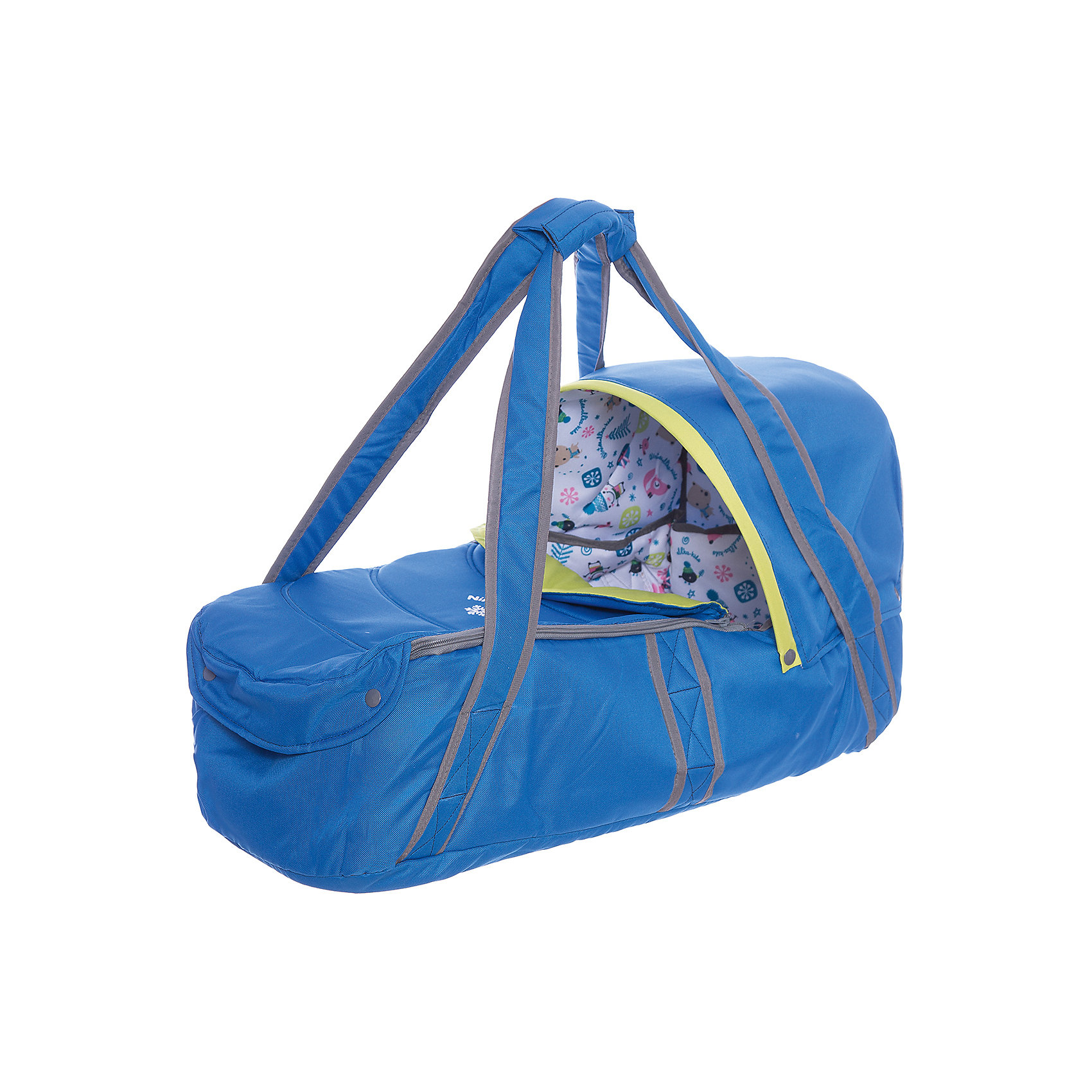 Люлька-переноска Л1, Ника, синийСлинги и рюкзаки-переноски<br>Люлька-переноска Л1, Ника, синий – удобство и комфорт для вашего малыша.<br>Люлька имеет жесткое дно для правильного формирования позвоночника ребенка. В ней очень комфортно спать. Дополнительно идет капюшон, который можно пристегнуть в холодную ветреную погоду для защиты от осадков. Удобные ручки для переноса. Открывается люлька с помощью молнии. Подходит для вкладыша в санки-коляски.<br><br>Дополнительная информация:<br><br>- размер: 80 х 40 х 30 см.<br>- вес: 7,6 кг.<br>- цвет: синий<br><br>Люльку-переноску Л1, Ника, синий можно купить в нашем интернет магазине.<br><br>Ширина мм: 670<br>Глубина мм: 300<br>Высота мм: 300<br>Вес г: 1400<br>Цвет: синий<br>Возраст от месяцев: 0<br>Возраст до месяцев: 6<br>Пол: Мужской<br>Возраст: Детский<br>SKU: 4998930