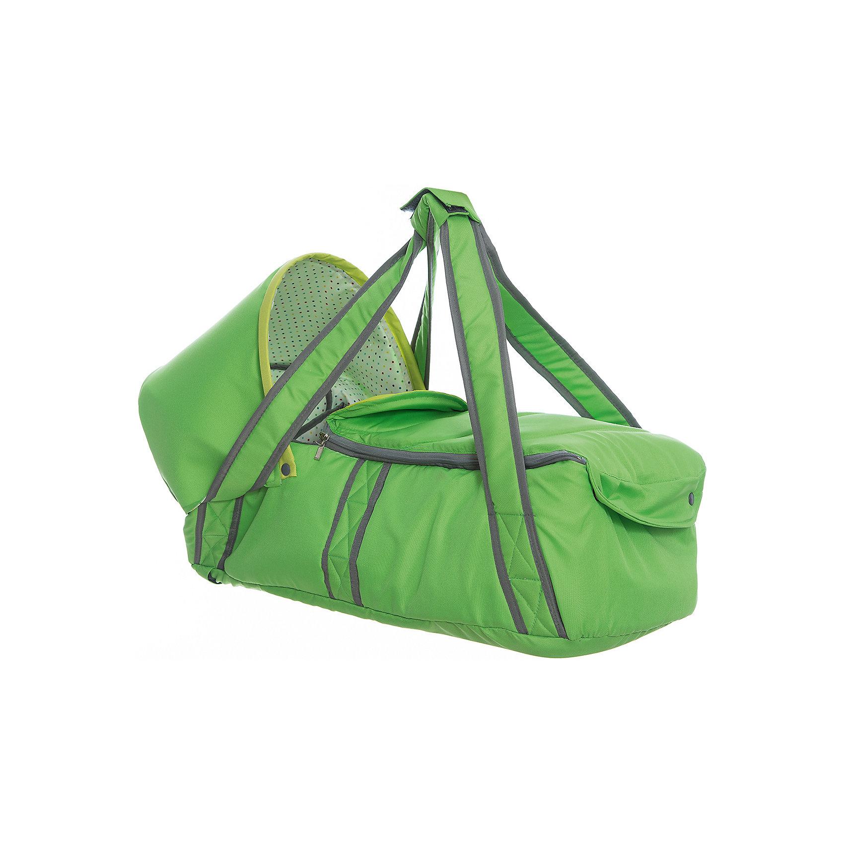 Люлька-переноска Л1, Ника, зеленыйСлинги и рюкзаки-переноски<br>Люлька-переноска Л1, Ника, зеленый – удобство и комфорт для вашего малыша.<br>Люлька имеет жесткое дно для правильного формирования позвоночника ребенка. В ней очень комфортно спать. Дополнительно идет капюшон, который можно пристегнуть в холодную ветреную погоду для защиты от осадков. Удобные ручки для переноса. Открывается люлька с помощью молнии. Подходит для вкладыша в санки-коляски.<br><br>Дополнительная информация:<br><br>- размер: 80 х 40 х 30 см.<br>- вес: 7,6 кг.<br>- цвет: зеленый<br><br>Люльку-переноску Л1, Ника, зеленый можно купить в нашем интернет магазине.<br><br>Ширина мм: 670<br>Глубина мм: 300<br>Высота мм: 300<br>Вес г: 1400<br>Возраст от месяцев: 0<br>Возраст до месяцев: 6<br>Пол: Унисекс<br>Возраст: Детский<br>SKU: 4998931