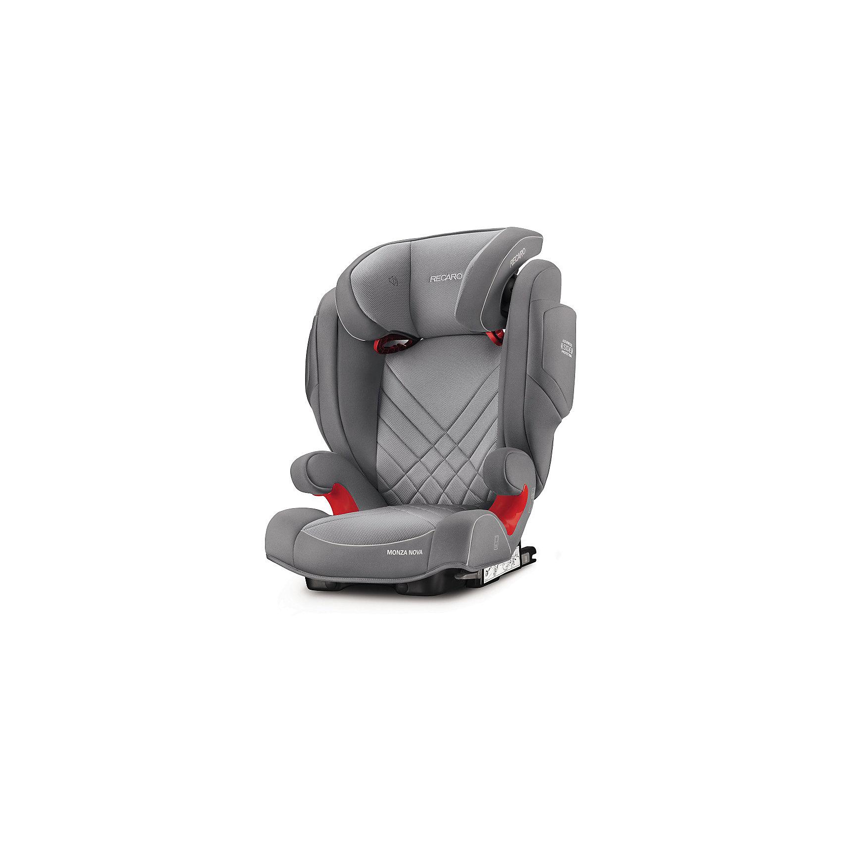 RECARO Автокресло Monza Nova 2 SF,  15-36 кг, Recaro, aluminum grey автокресло recaro monza nova 2 seatfix 15 36 кг perfomance black