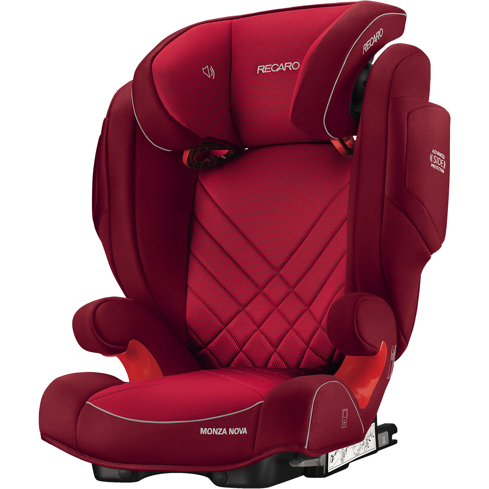 Автокресло Monza Nova 2 SF,  15-36 кг, Recaro, indy red