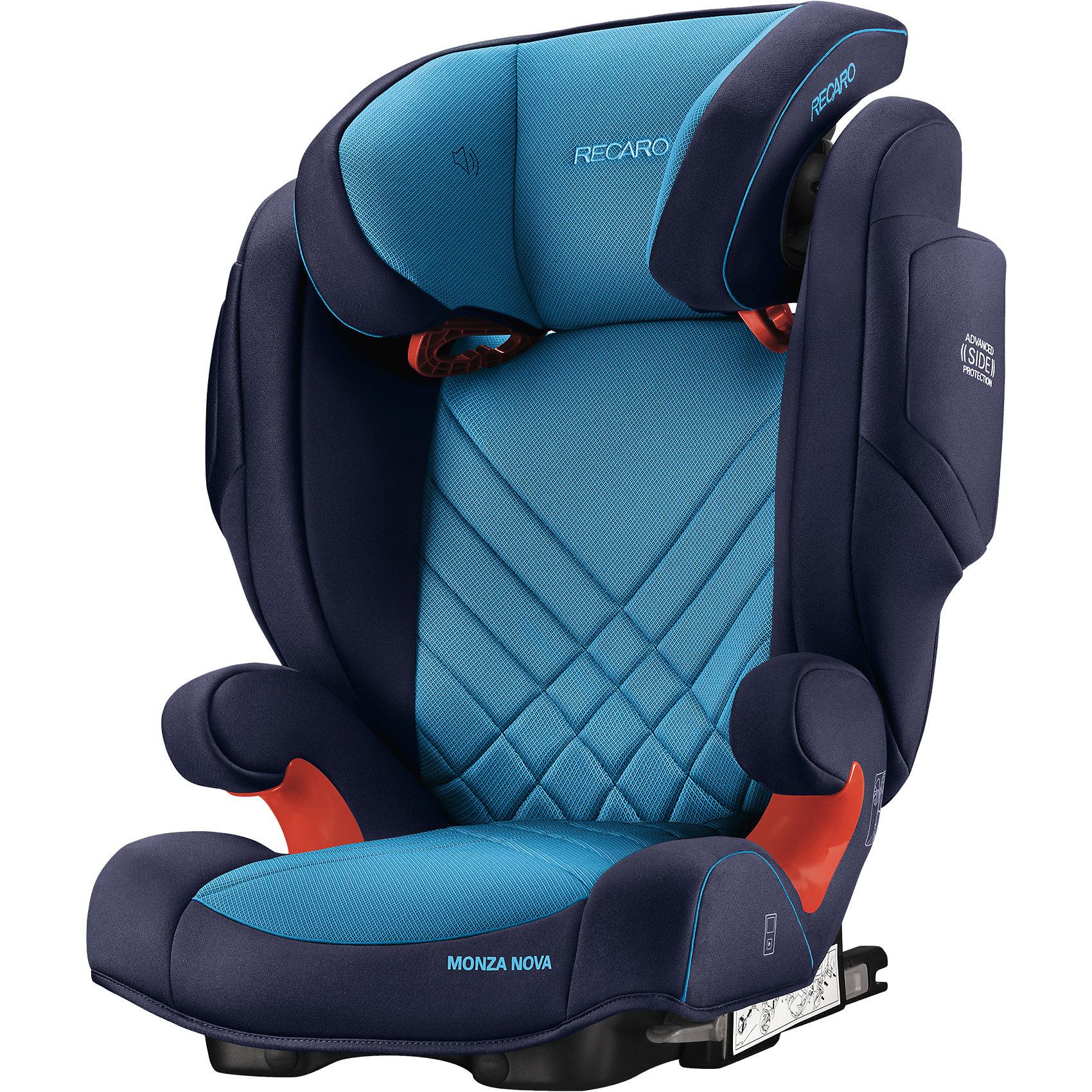 RECARO Автокресло Monza Nova 2 SF,  15-36 кг, Recaro, xenon blue автокресло recaro monza nova 2 seatfix 15 36 кг perfomance black