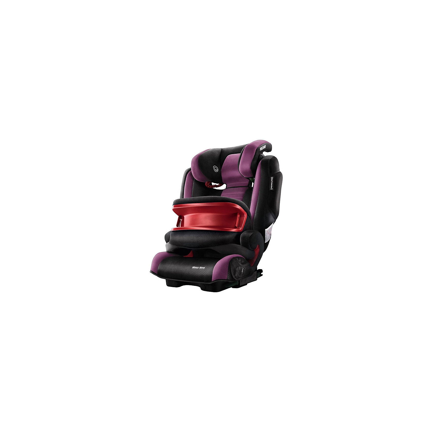 Автокресло Monza Nova IS SF,  9-36 кг, Recaro, violetАвтокресло Recaro Monza Nova IS SF:<br><br>Характеристики:<br><br>• группа: 1-2-3;<br>• вес ребенка: 9-36 кг;<br>• возраст ребенка: от 9 месяцев до 12 лет;<br>• способ установки: по ходу движения;<br>• способ крепления: система Isofix;<br>• материал: пластик, полиэстер;<br>• размер автокресла: 74х48х62 см;<br>• вес автокресла: 6,5 кг;<br>• вес в упаковке: 8 кг.<br><br>Особенности автокресла Monza Nova IS SF: <br><br>• регулируемая глубина подголовника, <br>• регулируемая высота подголовника – 11 положений, <br>• встроенный ростомер, <br>• 3-х камерная подкачка подголовника;<br>• усиленная боковая защита, <br>• интегрированные динамики: воспроизведения колыбельных, звуков природы, аудиосказок,<br>• провод для подключения плеера к динамикам в комплекте,<br>• сетчатые кармашки для MP3-плеера.<br><br>Автокресло Monza Nova IS SF будет сопровождать вас и вашего кроху вплоть до достижения ребенком возраста 12 лет. Автокресло укомплектовано дополнительными аксессуарами для наибольшей безопасности ребенка на каждом этапе его взросления. <br><br>Когда вес малыша находится в пределах 9-18 кг, эргономичный защитный столик вместе с 3-х точечным ремнем безопасности автомобиля обеспечивают максимальную безопасность. Автокресло обязательно используется со столиком, пока кроха не достигнет определенного роста и веса. <br><br>Автокресло устанавливается на заднем сидении автомобиля с помощью системы Изофикс. Выдвижные крепления кресла совмещаются с системой Изофикс в автомобиле.<br><br>Обивка автокресла выполнена из дышащего материала, который не впитывает посторонние запахи. Автокресло оснащено вентиляционными отверстиями для циркуляции воздуха и регуляции теплообмена. <br><br>Комплектация: <br><br>• автокресло Monza Nova IS SF группы I/II/III;<br>• защитный столик;<br>• накладка на сиденье;<br>• стерео динамики, встроенные в подголовник;<br>• провод для подключения воспроизводящего устройства к динамикам.<br><br>Автокресло Monza N