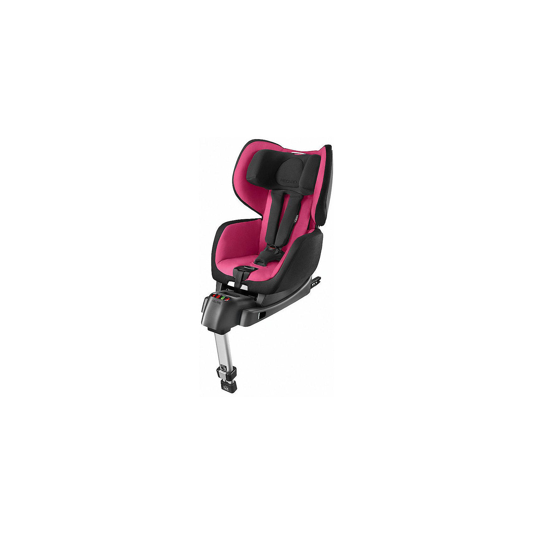Автокресло OptiaFix,  9-18 кг, Recaro, pink