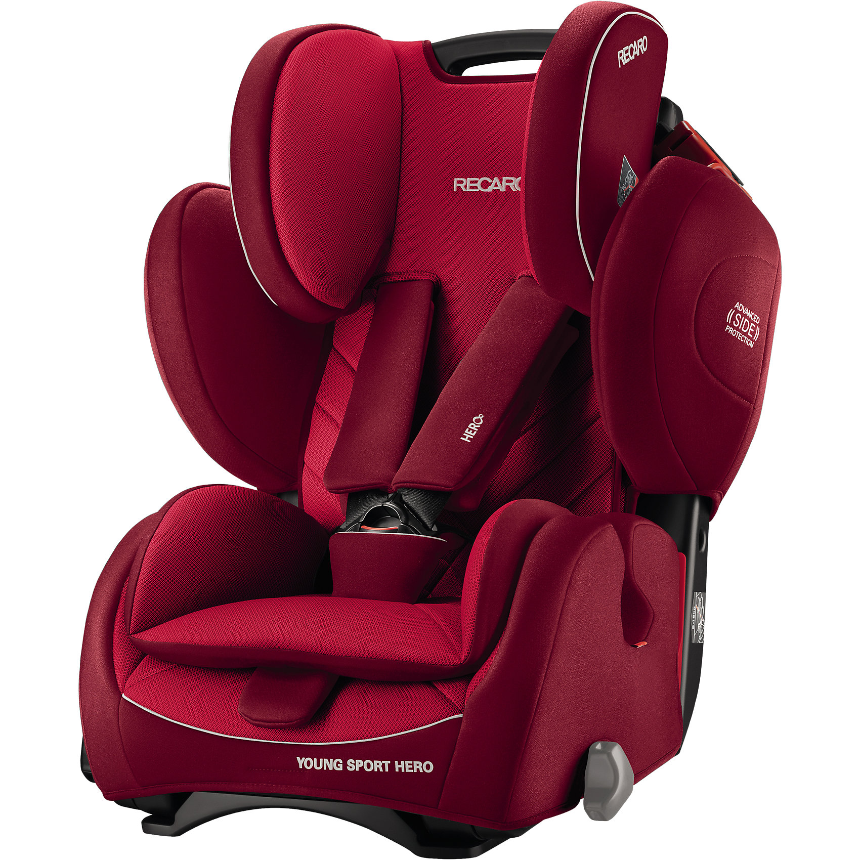 Автокресло Young Sport Hero,  9-36 кг, Recaro, indy red