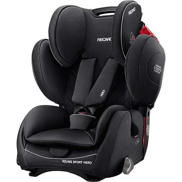 Купить Автокресло RECARO Young Sport Hero, 9-36 кг, perfomance black, Китай, черный, Унисекс
