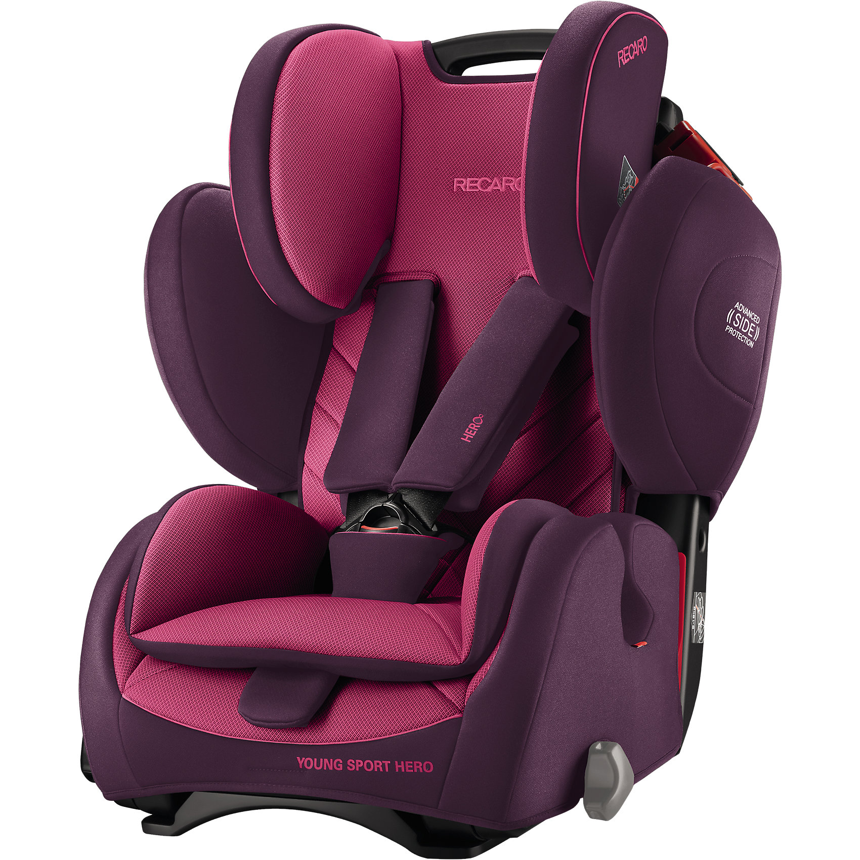 Автокресло Young Sport Hero,  9-36 кг, Recaro, power berry