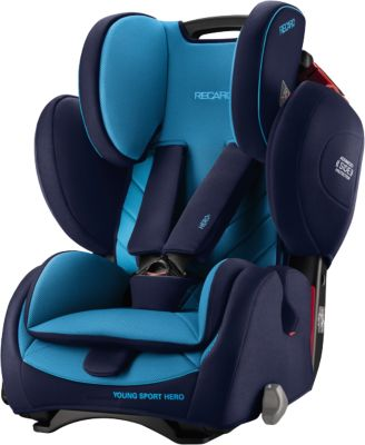 Автокресло RECARO Young Sport Hero, 9-36 кг, xenon blue