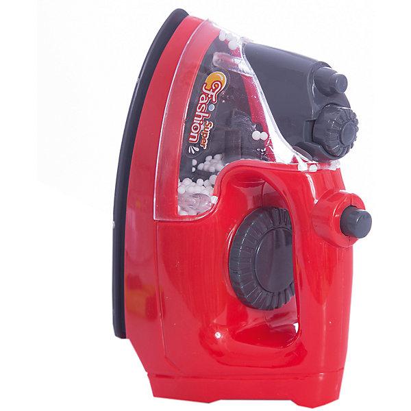 Утюг, со светом, JUNFAИгрушечная бытовая техника<br>Характеристики:<br><br>• тип игрушки:утюг;<br>• возраст: от 3 лет;<br>• цвет: красный;<br>• размер: 15,5x17x9 см;<br>•тип батареек: 2 батарейки типа АА;<br>•комплектация: в комплект не входят;<br>• бренд: Junfa Toys;<br>• упаковка: картонная коробка с окошком;<br>• материал: пластик, металл.<br><br>Утюг, со светом, JUNFA приведет в восторг любую юную хозяйку, ведь он отлично имитирует бытовой прибор, которым не разрешает играть мама. С таким утюгом малышка сможет привести всю одежду своих куколок в порядок.<br><br> Игрушечный утюг станет отличным дополнением к уже имеющейся у девочки бытовой технике. Утюг выполнен в сочетании красного и серого цветов, дополнен небольшим логотипом. Он имеет отделение для воды, а также кнопки выпуска пара и регулировки мощности. Модель выполнена с высокой степенью реалистичности, что позволит девочке получить начальные представления о работе настоящего бытового прибора.<br><br> Игрушка оснащена световыми эффектами, благодаря чему поможет сделать игры девочки еще более интересными и увлекательными. Утюг выполнен из прочного и качественного нетоксичного пластика, окрашенного с использованием сертифицированных красителей.<br><br>Утюг, со светом, JUNFA можно купить в нашем интернет-магазине.<br>Ширина мм: 155; Глубина мм: 90; Высота мм: 170; Вес г: 198; Возраст от месяцев: 36; Возраст до месяцев: 96; Пол: Женский; Возраст: Детский; SKU: 5000028;