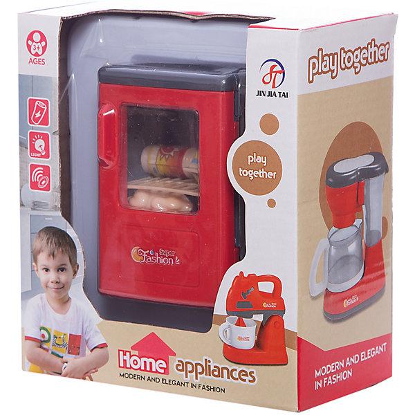 Холодильник, с аксессуарами, со светом, JUNFAИгрушечная бытовая техника<br>Характеристики:<br><br>• тип игрушки: холодильник;<br>• возраст: от 3 лет;<br>•комплектация: холодильник, аксессуары; <br>• размер: 15.5x 9x17 см;<br>• бренд: JUNFA;<br>• тип батареек: на батарейках;<br>• упаковка: картонная коробка блистерного типа;<br>• материал: пластик.<br><br>Холодильник, с аксессуарами, со светом, JUNFA представляет из себя игрушечный набор, который изготовлен из качественного пластика. Игрушка порадует любую девочку от трех лет и станет отличным дополнением к уже имеющейся кухоньке. <br>Его задняя и боковые стенки окрашены в металлический цвет, а дверца в ярко-красный. Благодаря прозрачной вставке видно что где хранится и можно заранее направить руку в нужное место. В аксессуары входят курица, пачка молока и банка со сладостями.<br><br>Холодильник, с аксессуарами, со светом, JUNFA можно купить в нашем интернет-магазине.<br>Ширина мм: 155; Глубина мм: 90; Высота мм: 170; Вес г: 219; Возраст от месяцев: 36; Возраст до месяцев: 96; Пол: Женский; Возраст: Детский; SKU: 5000029;
