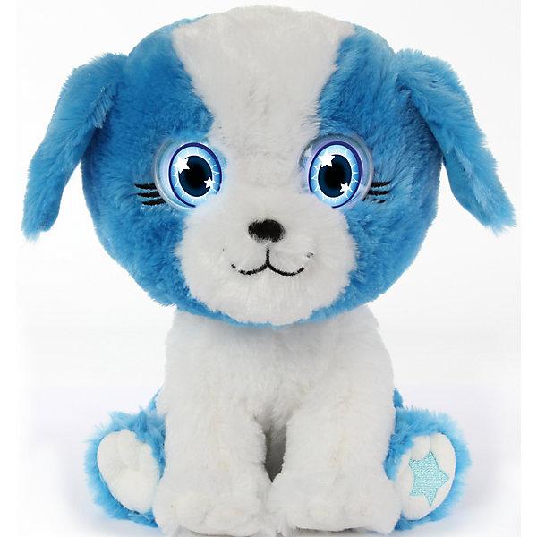 Интерактивный Щенок, Bright EyesИнтерактивные мягкие игрушки<br>Интерактивная плюшевая игрушка Bright Eyes – это невероятно милый плюшевый щенок, который реагирует на Ваши прикосновения, отзывается на поглаживания, «засыпает». Функция Try Me (3 батарейки ААА в комплекте). Погладьте питомца по голове и он проснется – глаза засветятся, он издаст звук.<br>Периодически питомец моргает, напоминая о себе и предлагая поиграть.<br>Погладьте питомца по спине и он начнет засыпать.<br>У питомцев есть  функция отключения звука – используйте игрушку в качестве ночника.<br>Ширина мм: 195; Глубина мм: 280; Высота мм: 205; Вес г: 750; Возраст от месяцев: 36; Возраст до месяцев: 144; Пол: Унисекс; Возраст: Детский; SKU: 5001036;