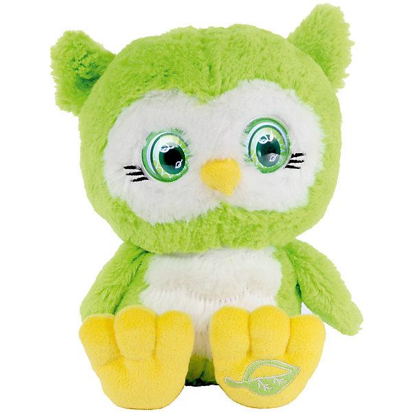 Интерактивная Сова, Bright EyesИнтерактивные мягкие игрушки<br>Интерактивная плюшевая игрушка Bright Eyes – это невероятно милая плюшевая сова, которая реагирует на Ваши прикосновения, отзывается на поглаживания, «засыпает». Функция Try Me (3 батарейки ААА в комплекте).  Погладьте питомца по голове и он проснется – глаза засветятся, он издаст звук.<br>Периодически питомец моргает, напоминая о себе и предлагая поиграть.<br>Погладьте питомца по спине и он начнет засыпать.<br>У питомцев есть  функция отключения звука – используйте игрушку в качестве ночника.<br><br>Ширина мм: 195<br>Глубина мм: 280<br>Высота мм: 205<br>Вес г: 750<br>Возраст от месяцев: 36<br>Возраст до месяцев: 144<br>Пол: Унисекс<br>Возраст: Детский<br>SKU: 5001037