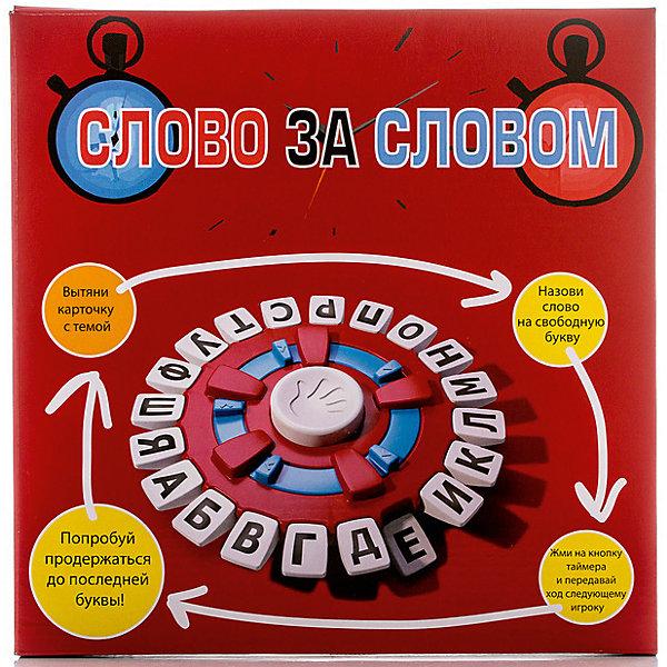 Настольная игра Слово за словом, OobaИгры со словами<br>Tapple - это оригинальная современная интерпретация игры в слова, известной каждому. Игра предназначена для компании от 2 до 8 человек. Она представляет собой панель с расположенными на ней кнопками, на каждой из которых указаны буквы. В комплект входят карточки с указанными на них темами - игрокам предстоит сначала выбрать одну из них, а затем нажимают на кнопку, с которой начинается слово по выбранной теме и называют его. В этом-то и заключается главный интерес игры - чем меньше остается букв, тем сложнее выбрать слово. Выбывает из игры тот, кто слишком надолго задумался над словом - об этом его оповестит встроенный таймер.<br><br>Ширина мм: 55<br>Глубина мм: 265<br>Высота мм: 260<br>Вес г: 500<br>Возраст от месяцев: 72<br>Возраст до месяцев: 192<br>Пол: Унисекс<br>Возраст: Детский<br>SKU: 5001039