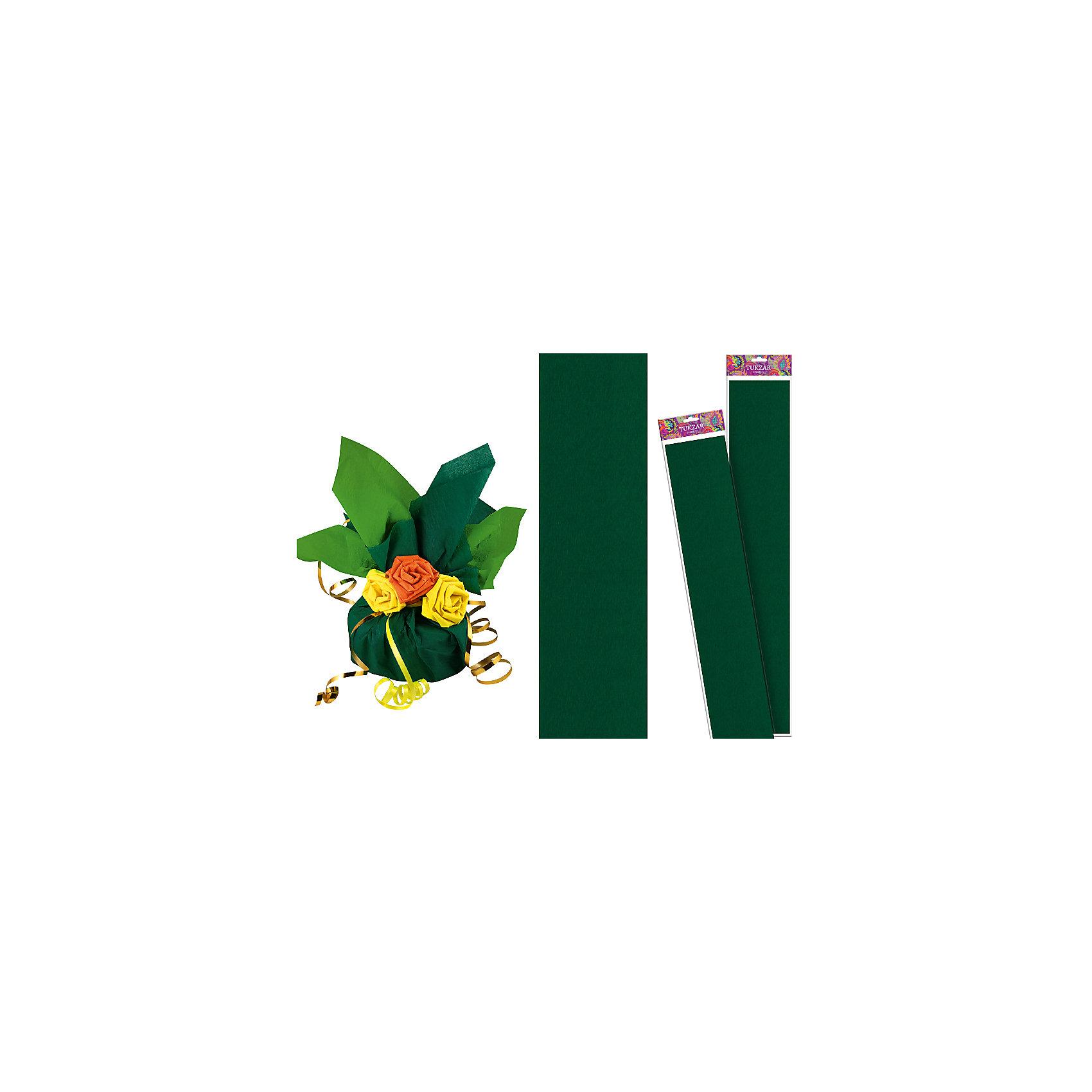 Зеленая крепированная бумага 50*250 смРукоделие<br>Зеленая крепированная бумага 50*250 см от известного торгового бренда канцелярских товаров и товаров для творчества TUKZAR. Крепированная бумага используется для изготовления различных поделок и аппликаций, наиболее часто данный вид бумаги применяют для изготовления цветов, которые отличаются высокой степенью достоверности, что обеспечивается за счет свойств данной бумаги: она имеет мелкое гофрирование, бархатистая на ощупь и влагостойкая. <br>Зеленая крепированная бумага 50*250 см от TUKZAR – идеально подходит для поделок и оформительских работ.  <br><br>Дополнительная информация:<br><br>- Предназначение: для творческих занятий и оформительских работ <br>- Материал: бумага<br>- Размеры (Ш*Д): 50*250 см<br>- Цвет: зеленый<br>- Упаковка: блистер<br><br>Подробнее:<br><br>• Для детей в возрасте: от 3 лет <br>• Страна производитель: Китай<br>• Торговый бренд: TUKZAR<br><br>Зеленую крепированную бумагу 50*250 см можно купить в нашем интернет-магазине.<br><br>Ширина мм: 500<br>Глубина мм: 50<br>Высота мм: 50<br>Вес г: 100<br>Возраст от месяцев: 36<br>Возраст до месяцев: 192<br>Пол: Унисекс<br>Возраст: Детский<br>SKU: 5001381