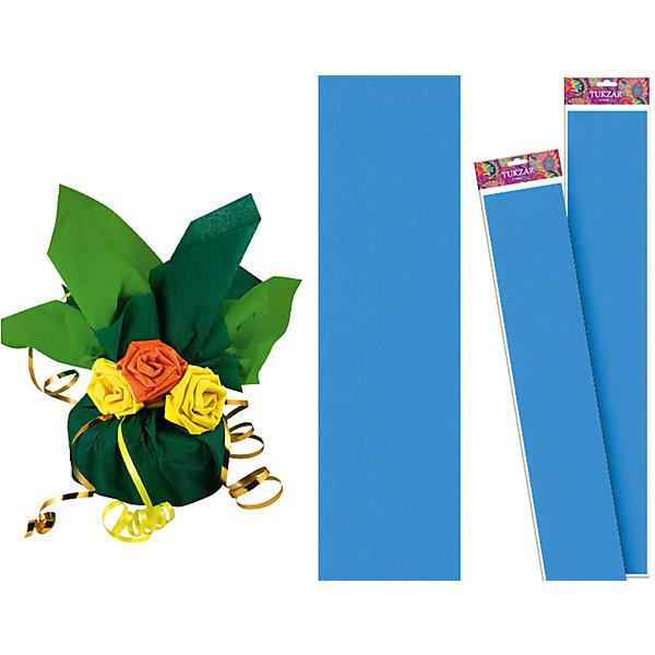 Голубая крепированная бумага 50*250 смПоследняя цена<br>Голубая крепированная бумага 50*250 см от известного торгового бренда канцелярских товаров и товаров для творчества TUKZAR. Крепированная бумага используется для изготовления различных поделок и аппликаций, наиболее часто данный вид бумаги применяют для изготовления цветов, которые отличаются высокой степенью достоверности, что обеспечивается за счет свойств данной бумаги: она имеет мелкое гофрирование, бархатистая на ощупь и влагостойкая. <br>Голубая крепированная бумага 50*250 см от TUKZAR – идеально подходит для поделок и оформительских работ.  <br><br>Дополнительная информация:<br><br>- Предназначение: для творческих занятий и оформительских работ <br>- Материал: бумага<br>- Размеры (Ш*Д): 50*250 см<br>- Цвет: голубой<br>- Упаковка: блистер<br><br>Подробнее:<br><br>• Для детей в возрасте: от 3 лет <br>• Страна производитель: Китай<br>• Торговый бренд: TUKZAR<br><br>Голубую крепированную бумагу 50*250 см можно купить в нашем интернет-магазине.<br><br>Ширина мм: 500<br>Глубина мм: 50<br>Высота мм: 50<br>Вес г: 100<br>Возраст от месяцев: 36<br>Возраст до месяцев: 192<br>Пол: Унисекс<br>Возраст: Детский<br>SKU: 5001382