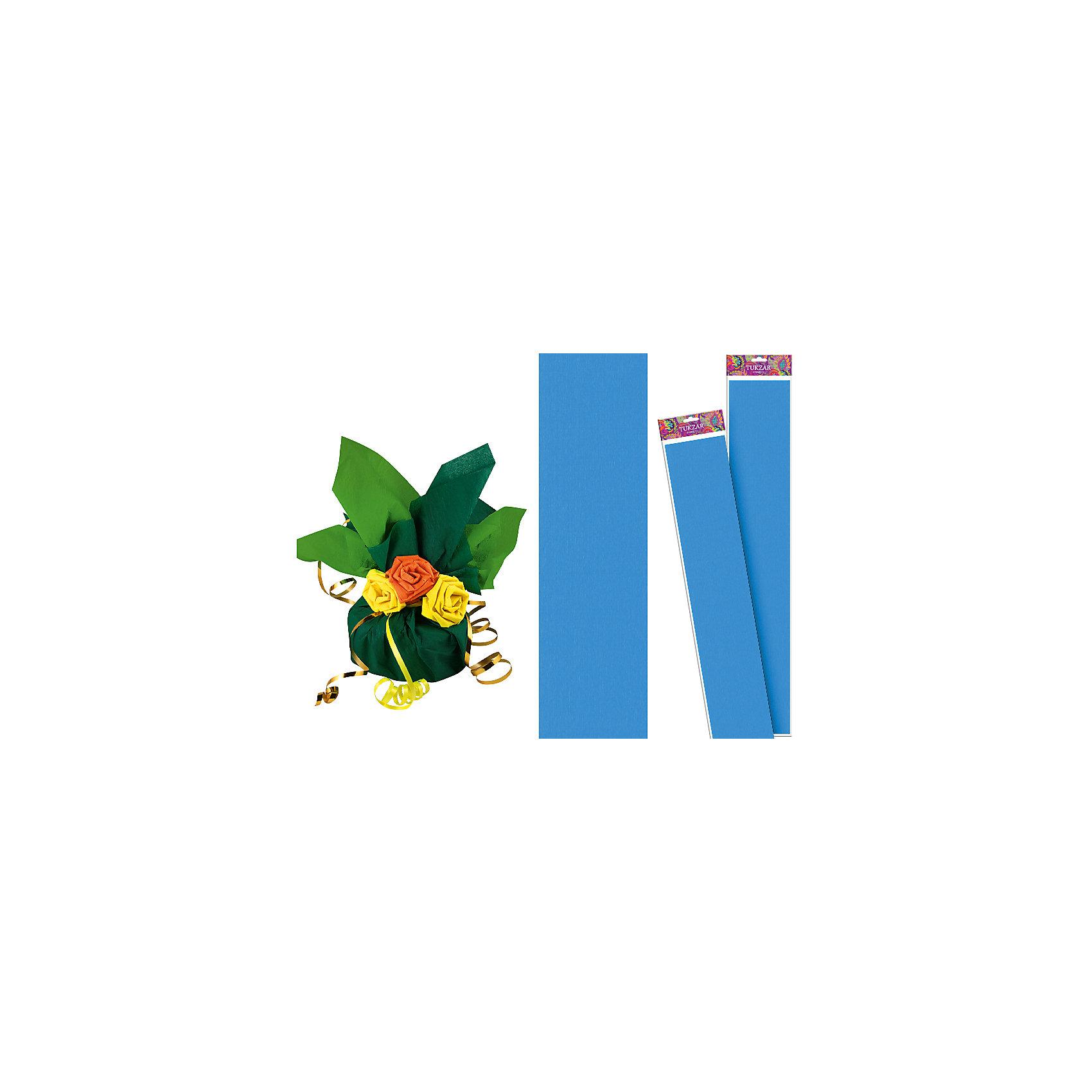 Голубая крепированная бумага 50*250 смГолубая крепированная бумага 50*250 см от известного торгового бренда канцелярских товаров и товаров для творчества TUKZAR. Крепированная бумага используется для изготовления различных поделок и аппликаций, наиболее часто данный вид бумаги применяют для изготовления цветов, которые отличаются высокой степенью достоверности, что обеспечивается за счет свойств данной бумаги: она имеет мелкое гофрирование, бархатистая на ощупь и влагостойкая. <br>Голубая крепированная бумага 50*250 см от TUKZAR – идеально подходит для поделок и оформительских работ.  <br><br>Дополнительная информация:<br><br>- Предназначение: для творческих занятий и оформительских работ <br>- Материал: бумага<br>- Размеры (Ш*Д): 50*250 см<br>- Цвет: голубой<br>- Упаковка: блистер<br><br>Подробнее:<br><br>• Для детей в возрасте: от 3 лет <br>• Страна производитель: Китай<br>• Торговый бренд: TUKZAR<br><br>Голубую крепированную бумагу 50*250 см можно купить в нашем интернет-магазине.<br><br>Ширина мм: 500<br>Глубина мм: 50<br>Высота мм: 50<br>Вес г: 100<br>Возраст от месяцев: 36<br>Возраст до месяцев: 192<br>Пол: Унисекс<br>Возраст: Детский<br>SKU: 5001382