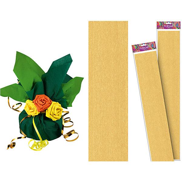 Золотая крепированная бумага 50*250 смДетская упаковочная бумага<br>Золотая крепированная бумага 50*250 см от известного торгового бренда канцелярских товаров и товаров для творчества TUKZAR. Крепированная бумага используется для изготовления различных поделок и аппликаций, наиболее часто данный вид бумаги применяют для изготовления цветов, которые отличаются высокой степенью достоверности, что обеспечивается за счет свойств данной бумаги: она имеет мелкое гофрирование, бархатистая на ощупь и влагостойкая. <br>Золотая крепированная бумага 50*250 см от TUKZAR – идеально подходит для поделок и оформительских работ.  <br><br>Дополнительная информация:<br><br>- Предназначение: для творческих занятий и оформительских работ <br>- Материал: бумага<br>- Размеры (Ш*Д): 50*250 см<br>- Цвет: золотой<br>- Упаковка: блистер<br><br>Подробнее:<br><br>• Для детей в возрасте: от 3 лет <br>• Страна производитель: Китай<br>• Торговый бренд: TUKZAR<br><br>Золотую крепированную бумагу 50*250 см можно купить в нашем интернет-магазине.<br>Ширина мм: 500; Глубина мм: 50; Высота мм: 50; Вес г: 100; Возраст от месяцев: 36; Возраст до месяцев: 192; Пол: Унисекс; Возраст: Детский; SKU: 5001383;