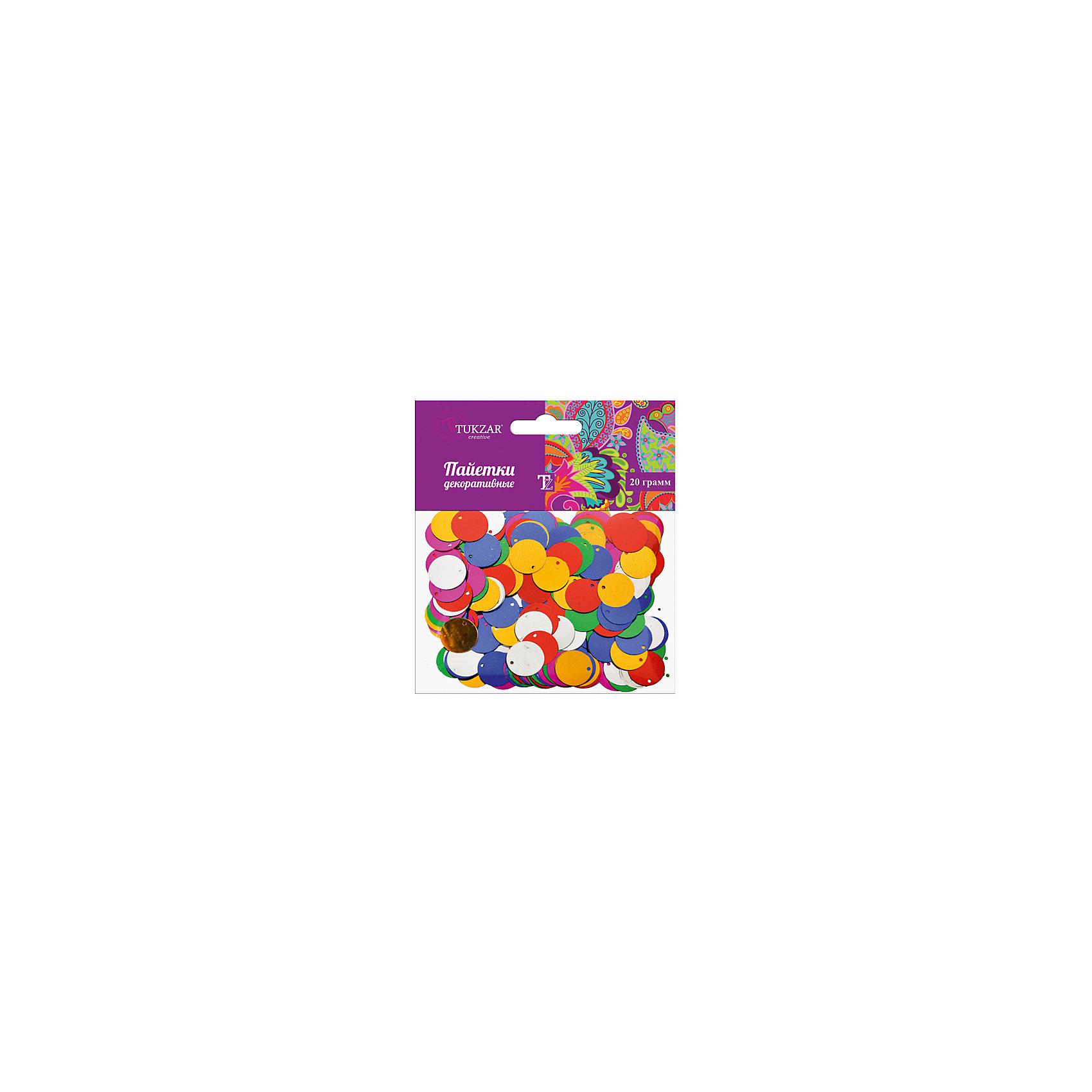 TUKZAR Круглые декоративные пайетки, 20 г фольксваген пассат спробегом купить в г ухта