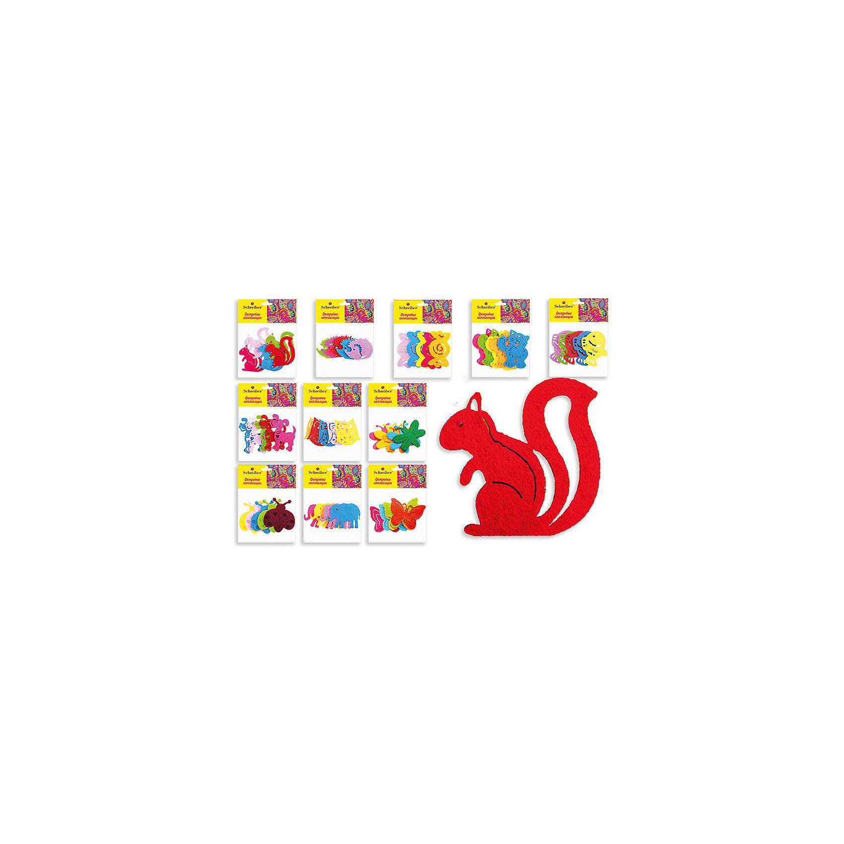 Фетровые аппликации 12*10 см (12 дизайнов в ассортименте)Последняя цена<br>Фетровые аппликации 12*10 см (12 дизайнов в ассортименте) от известного торгового бренда канцелярских товаров и товаров для творчества TUKZAR. Набор включает в себя разноцветные заготовки животных, растений и других предметов для занятий аппликацией с детьми дошкольного и младшего школьного возраста. Комплектация позволяет создавать сюжетные картинки. Кроме того, данные заготовки можно использовать в качестве меток для детской одежды.<br>Фетровые аппликации 12*10 см (12 дизайнов в ассортименте) способствуют развитию у ребенка внимания, усидчивости, воображения и фантазии.<br><br>Дополнительная информация:<br><br>- Предназначение: для аппликаций<br>- Материал: фетр<br>- Комплектация: 12 дизайнов (бабочки, белочки, слоники,ежики, котята, рыбки, собачки и др.)<br>- Размеры упаковки (Д*В): 10*12 см<br>- Упаковка: полиэтилен<br><br>Подробнее:<br><br>• Для детей в возрасте: от 3 лет <br>• Страна производитель: Китай<br>• Торговый бренд: TUKZAR<br><br>Фетровые аппликации 12*10 см (12 дизайнов в ассортименте) можно купить в нашем интернет-магазине.<br><br>Ширина мм: 120<br>Глубина мм: 100<br>Высота мм: 10<br>Вес г: 50<br>Возраст от месяцев: 36<br>Возраст до месяцев: 72<br>Пол: Унисекс<br>Возраст: Детский<br>SKU: 5001406