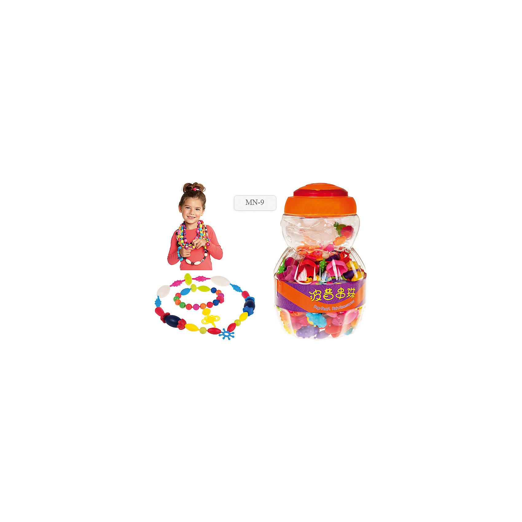 Конструктор Весёлая бижутерия, 500 деталейРукоделие<br>Конструктор Весёлая бижутерия от известного торгового бренда товаров для творчества TUKZAR предназначен для детей дошкольного возраста. Набор состоит из декоративных элементов для конструирования бижутерии: бусины разного цвета, формы, размера, заготовки для браслетов, колец, подвесок. С этим набором ваша девочка почувствует себя настоящим ювелиром, а занятия с конструктором будут способствовать развитию у вашего ребенка внимательности, усидчивости, развивать воображение и фантазию. <br><br>Дополнительная информация:<br><br>- Предназначение: для творчествих занятий, для конструирования<br>- Пол: для девочки<br>- Материал: ПВХ<br>- Комплектация: бусины разных форм, цветов и размеров, заготовки для браслетов, колец<br>- Количество элементов (шт.): 500 <br>- Упаковка: пластиковая банка с крышкой и ручкой<br><br>Подробнее:<br><br>• Для детей в возрасте: от 5 лет <br>• Страна производитель: Китай<br>• Торговый бренд: TUKZAR<br><br>Конструктор Весёлая бижутерия можно купить в нашем интернет-магазине.<br><br>Ширина мм: 200<br>Глубина мм: 200<br>Высота мм: 20<br>Вес г: 300<br>Возраст от месяцев: 36<br>Возраст до месяцев: 96<br>Пол: Женский<br>Возраст: Детский<br>SKU: 5001473