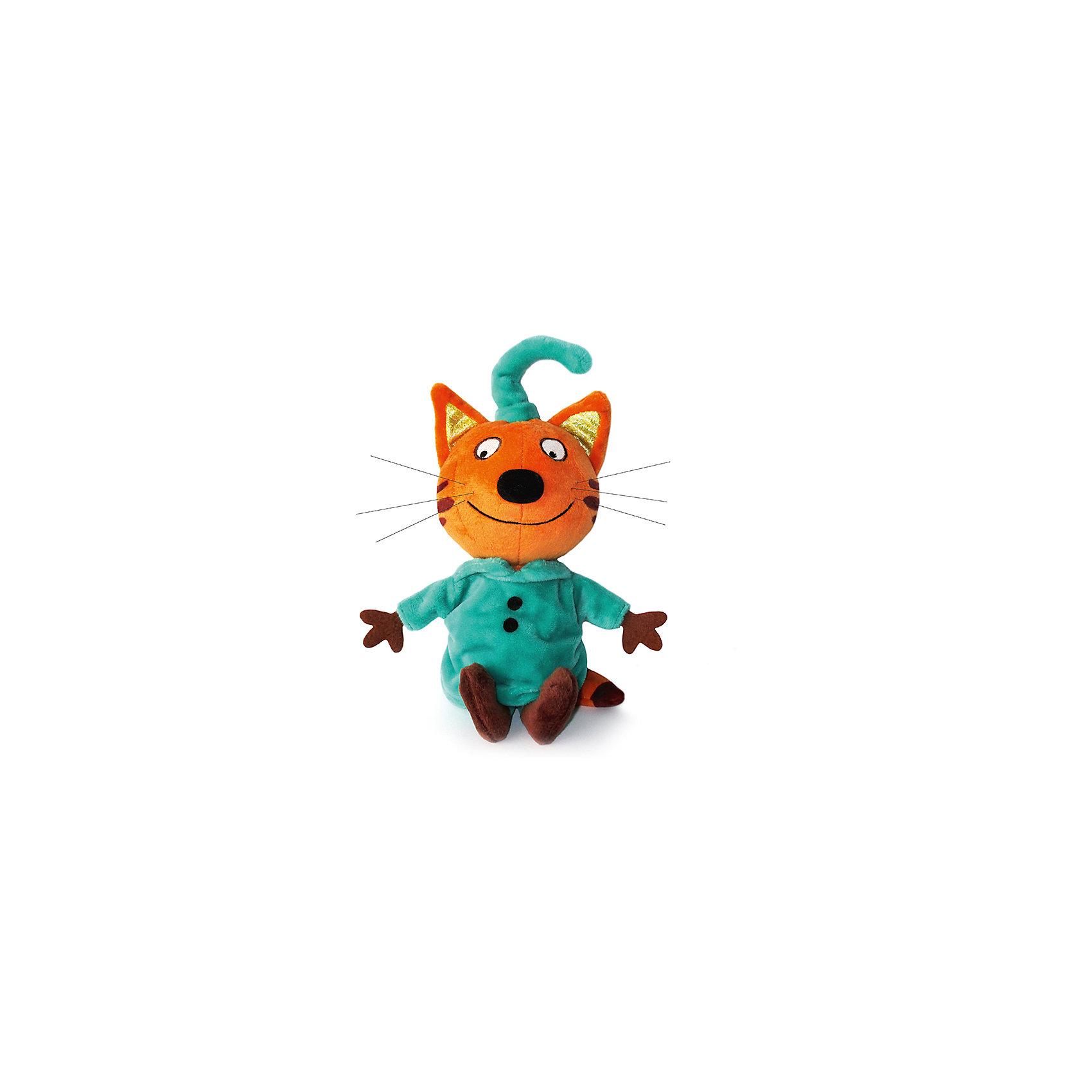 МУЛЬТИ-ПУЛЬТИ Мягкая игрушка Компот, 3 Кота, Мульти-Пульти, 16 см мульти пульти мягкая игрушка серый мышонок 23 см со звуком кот леопольд мульти пульти