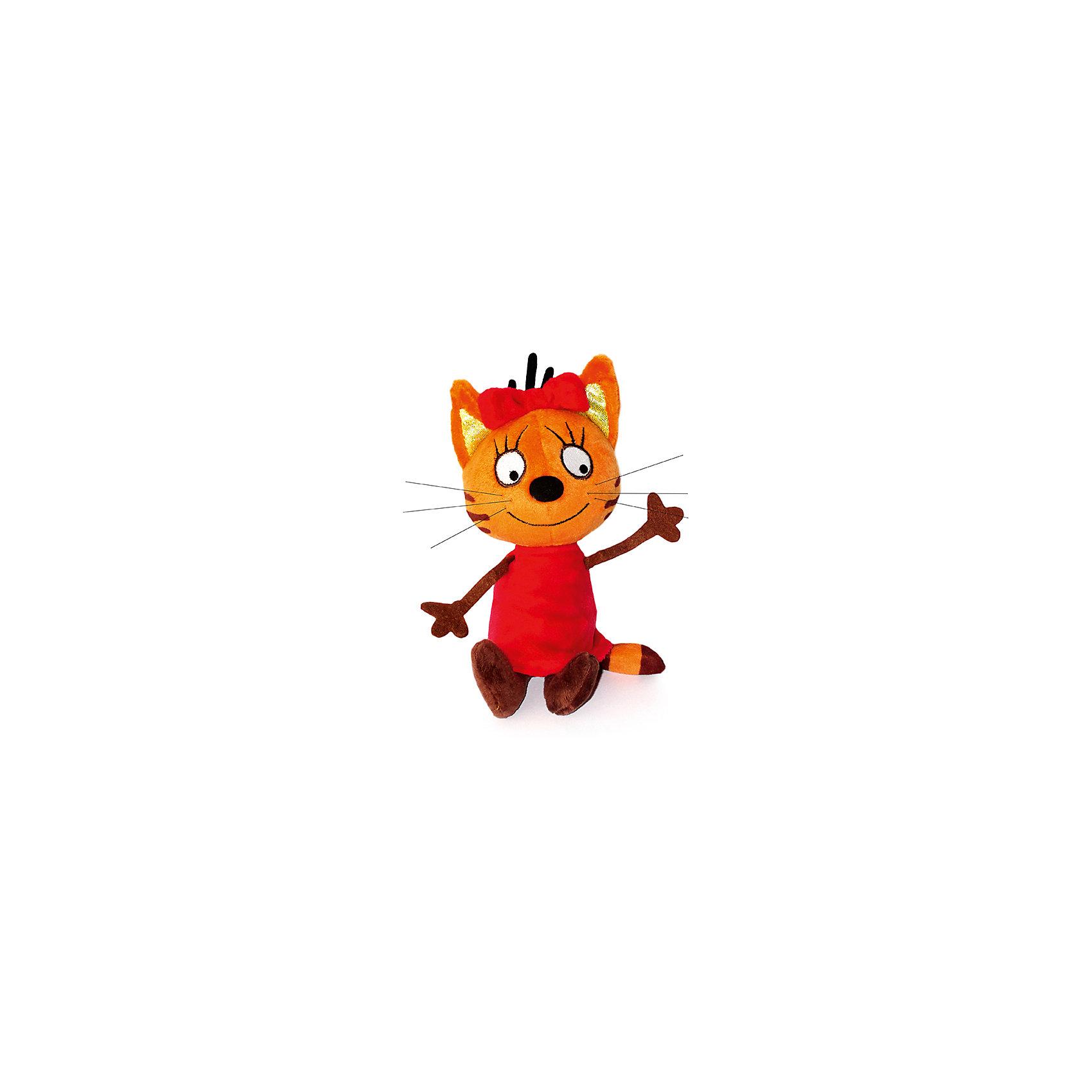 Мягкая игрушка Карамелька, 3 Кота, Мульти-Пульти, 13 смЛюбимые герои<br>Мягкая игрушка Мульти-пульти Карамелька из любимого мультфильма 3 кота станет прекрасным подарком для вашего ребёнка. Кот Компот скажет несколько фраз и споет веселую песенку. Он совсем небольшой, поэтому ребёнок сможет брать его на прогулку или в путешествие. Игрушка сделана из безопасного для детей материала.<br><br>Характеристика:<br>-Размер: 13 см<br>-Вес: 80 г<br>-Материал: текстиль,пластмасса<br>-Возраст: от 3 до 7 лет<br>-Марка: Мульти-пульти<br>Мягкая игрушка Карамелька, 3 Кота, Мульти-Пульти, 13 см<br> вы можете приобрести в нашем интернет-магазине.<br><br>Ширина мм: 70<br>Глубина мм: 270<br>Высота мм: 200<br>Вес г: 80<br>Возраст от месяцев: 36<br>Возраст до месяцев: 2147483647<br>Пол: Унисекс<br>Возраст: Детский<br>SKU: 5002200