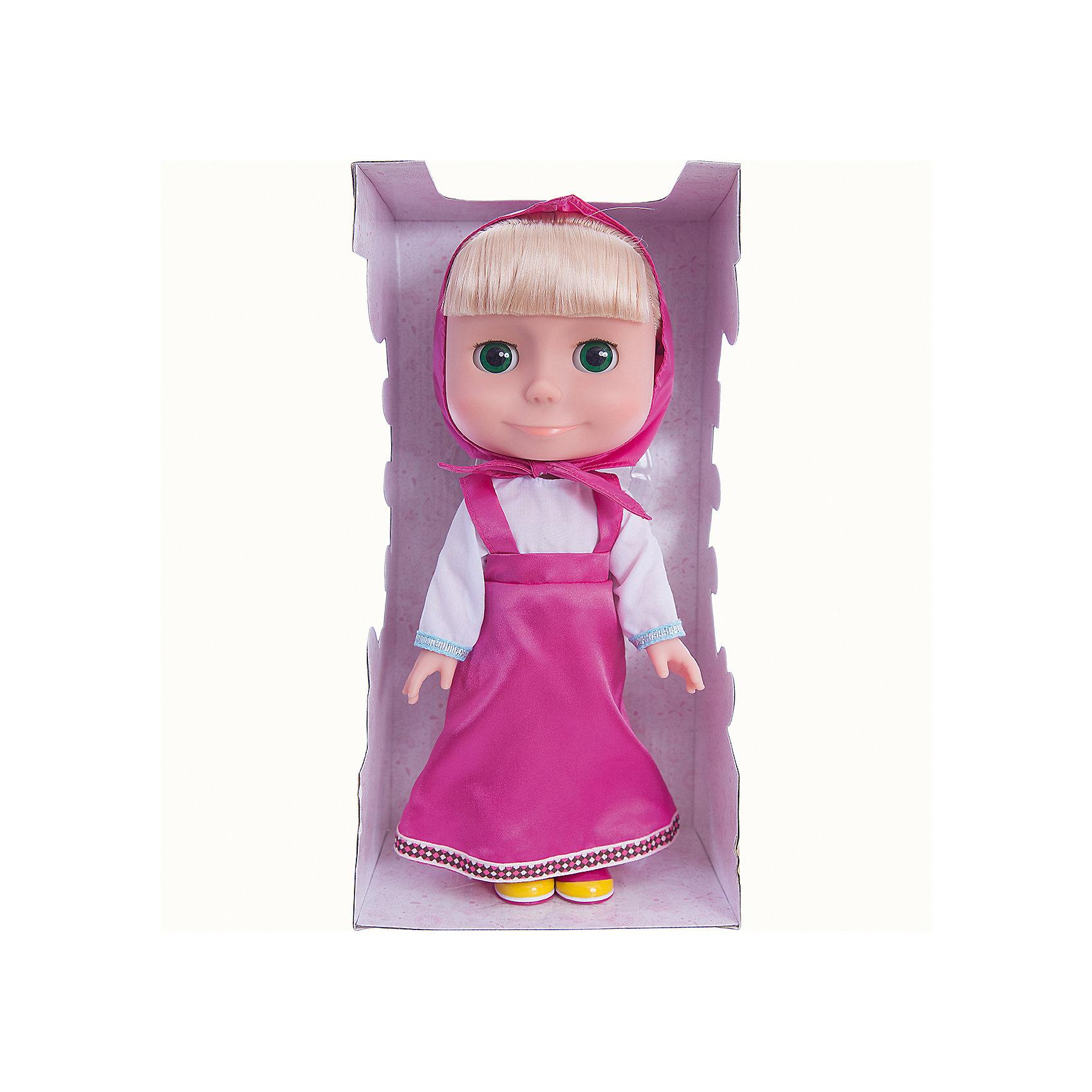 Карапуз Кукла Маша, Маша и Медведь, 33 см, Карапуз карапуз кукла золушка со светящимся амулетом 37 см со звуком принцессы дисней карапуз