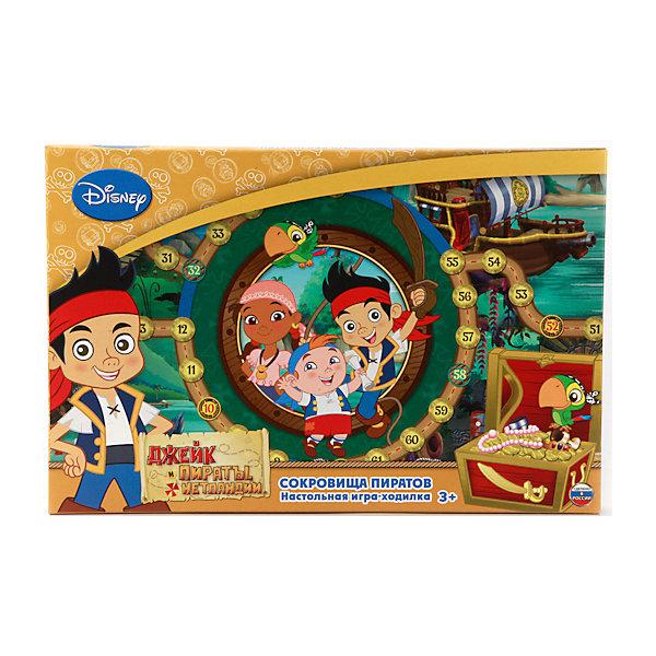 Настольная игра-ходилка Джейк и пираты Нетландии, УмкаНастольные игры ходилки<br>Настольные игры могут не только развлекать малыша, но и помогать его всестороннему развитию. Эта игра-ходилка  Джейк и пираты Нетландии с любимыми детскими героями предназначена для формирования у малышей навыков счета, развития памяти и внимательности.<br>Игра представляет поле с кубиком и фишками. Сделан комплект из качественных материалов, безопасных для ребенка.<br><br>Дополнительная информация:<br><br>цвет: разноцветный;<br>материал: картон, пластик;<br>комплектация: игровое поле, кубик, 4 фишки;<br>размер упаковки: 30 x 210 x 330 мм.<br><br>Настольную игру-ходилку Джейк и пираты Нетландии от бренда Умка можно купить в нашем магазине.<br><br>Ширина мм: 30<br>Глубина мм: 330<br>Высота мм: 210<br>Вес г: 150<br>Возраст от месяцев: 36<br>Возраст до месяцев: 2147483647<br>Пол: Мужской<br>Возраст: Детский<br>SKU: 5002210