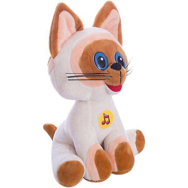 Мягкая игрушка Котенок Гав, 23 см, Мульти-ПультиМягкие игрушки из мультфильмов<br>Игрушки могут не только развлекать малыша, но и помогать его всестороннему развитию. Этот котенок поможет формированию разных навыков, он помогает развить тактильное восприятие, цветовосприятие, звуковосприятие и мелкую моторику.<br>Изделие представляет собой игрушку из приятного на ощупь материала со звуковым модулем - ребенок может послушать песни. Сделан котенок из качественных материалов, безопасных для ребенка.<br><br>Дополнительная информация:<br><br>цвет: разноцветный;<br>материал: текстиль;<br>звуковой модуль;<br>высота: 23 см.<br><br>Мягкую игрушку Котенок Гав, 23 см, от бренда Мульти-Пульти можно купить в нашем магазине.<br><br>Ширина мм: 90<br>Глубина мм: 320<br>Высота мм: 210<br>Вес г: 130<br>Возраст от месяцев: 36<br>Возраст до месяцев: 2147483647<br>Пол: Унисекс<br>Возраст: Детский<br>SKU: 5002219