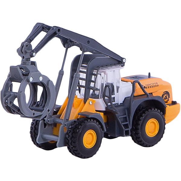 Погрузчик с захватом, ТехнопаркМашинки<br>Характеристики:<br><br>• тип игрушки: машина;<br>• возраст: от 3 лет;<br>• размер: 16х17х7 см;<br>• цвет: оранжевый;<br>• материал: металл, пластик;<br>• бренд: Технопарк;<br>• страна производителя: Китай.<br><br>Машина Технопарк «Погрузчик с захватом»  максимально приближена к своему реальному прототипу. Машина оснащена подвижными элементами. Игра в машинки помогает малышу в развитии внимания, фантазии, направляет на освоение физического пространства. Во время игры ребенок самостоятельно озвучивает движения машины, повторяя звуки, которые он услышал от реальных машин.<br><br>Тематические игры с интересными сюжетами разбудят воображение ребёнка, а манипуляции с игрушкой потренируют мелкую моторику пальцев рук. Масштабные модели от компании «Технопарк» отличаются качественными ударопрочными материалами, продлевающими долговечность изделия тщательным исполнением со вниманием ко всем деталям, и имеют требуемые сертификаты соответствия для детских игрушек.<br><br>Машину Технопарк «Погрузчик с захватом»  можно купить в нашем интернет-магазине.<br>Ширина мм: 70; Глубина мм: 160; Высота мм: 170; Вес г: 150; Возраст от месяцев: 36; Возраст до месяцев: 2147483647; Пол: Мужской; Возраст: Детский; SKU: 5002220;