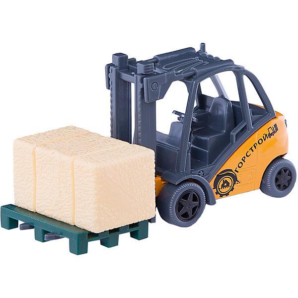 Погрузчик, ТехнопаркМашинки<br>Характеристики:<br><br>• тип игрушки: машина;<br>• возраст: от 3 лет;<br>• размер: 15х17х7 см;<br>• цвет: желтый;<br>• материал: металл, пластик;<br>• бренд: Технопарк;<br>• страна производителя: Китай.<br><br>Машина Технопарк «Погрузчик»  представлена с отличной детализацией, изделие обладает большим количеством открывающихся элементов, будет замечательным подарком малышу на любой праздник. <br><br>Тематические игры с интересными сюжетами разбудят воображение ребёнка, а манипуляции с игрушкой потренируют мелкую моторику пальцев рук. Масштабные модели от компании «Технопарк» отличаются качественными ударопрочными материалами, продлевающими долговечность изделия тщательным исполнением со вниманием ко всем деталям, и имеют требуемые сертификаты соответствия для детских игрушек.<br><br>Машину Технопарк «Погрузчик»  можно купить в нашем интернет-магазине<br>Ширина мм: 70; Глубина мм: 160; Высота мм: 160; Вес г: 130; Возраст от месяцев: 36; Возраст до месяцев: 2147483647; Пол: Мужской; Возраст: Детский; SKU: 5002225;