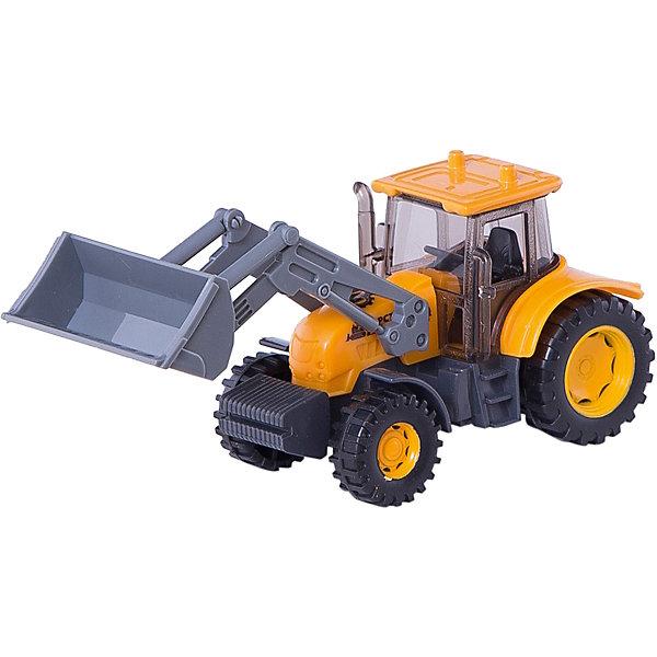Экскаватор-трактор, ТехнопаркМашинки<br>Характеристики:<br><br>• тип игрушки: машина;<br>• возраст: от 3 лет;<br>• размер: 15х17х7 см;<br>• цвет: оранжевый;<br>• материал: металл, пластик;<br>• бренд: Технопарк;<br>• страна производителя: Китай.<br><br>Машина Технопарк «Экскаватор-трактор»  исполнена в серо-оранжевом цвете, все элементы декора тщательно проработаны. Благодаря прозрачным стёклам можно рассмотреть тщательно исполненную кабину водителя. Игрушка снабжена колёсами со свободным ходом, что позволяет катать её по поверхности. Корпус игрушки выполнен из металла, что продлевает долговечность изделия. Модель снабжена подвижными элементами: ковш трактора можно поднимать и опускать.На кузове можно увидеть логотип и надпись «Горстрой». <br><br>Тематические игры с интересными сюжетами разбудят воображение ребёнка, а манипуляции с игрушкой потренируют мелкую моторику пальцев рук. Масштабные модели от компании «Технопарк» отличаются качественными ударопрочными материалами, продлевающими долговечность изделия тщательным исполнением со вниманием ко всем деталям, и имеют требуемые сертификаты соответствия для детских игрушек.<br><br>Машину Технопарк «Экскаватор-трактор»  можно купить в нашем интернет-магазине.<br>Ширина мм: 70; Глубина мм: 150; Высота мм: 170; Вес г: 140; Возраст от месяцев: 36; Возраст до месяцев: 2147483647; Пол: Мужской; Возраст: Детский; SKU: 5002227;