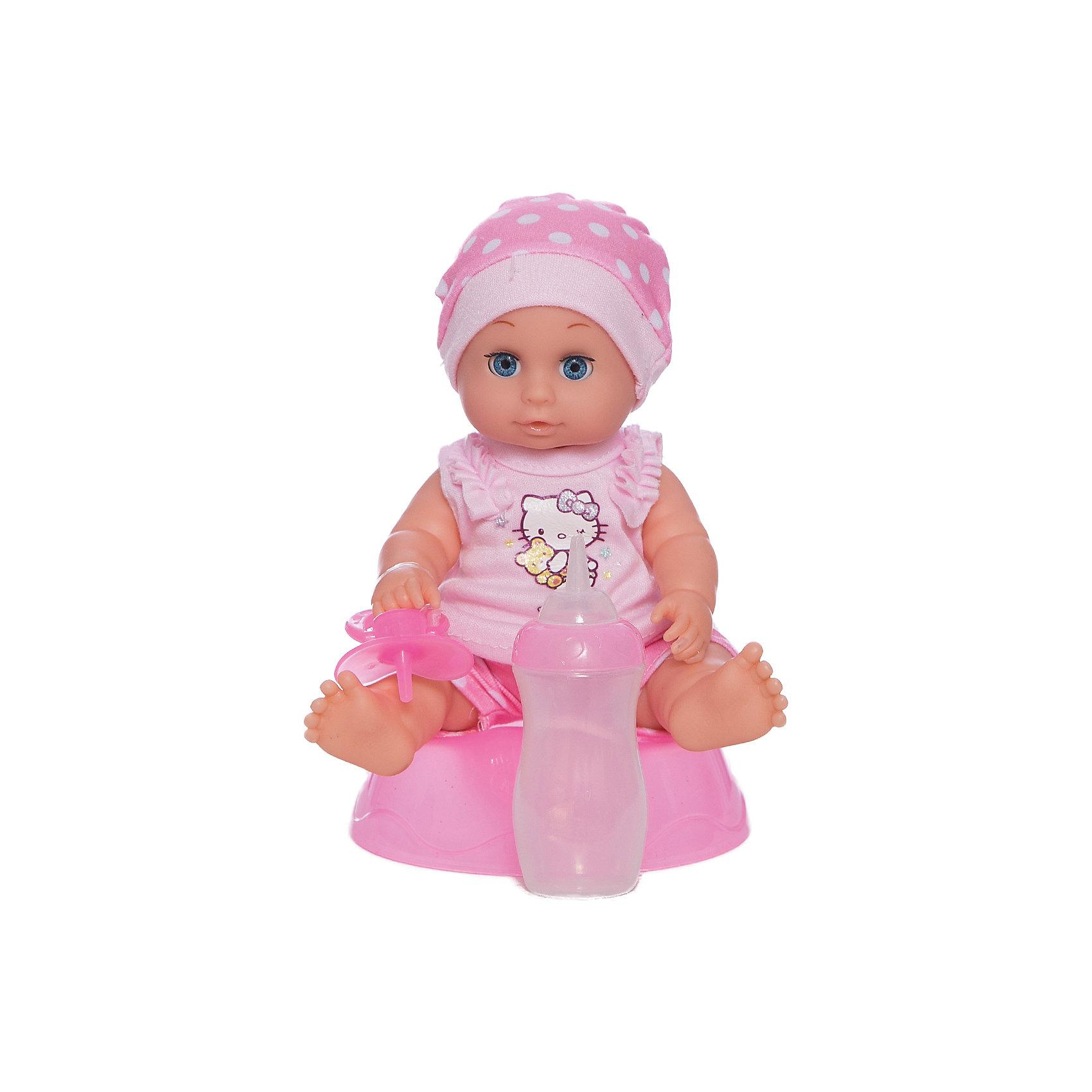 Пупс Hello Kitty, 20 см, 3 функции, КарапузКуклы-пупсы<br>Порадовать девочку просто - подарите ей такую куклу. С её помощью девочка будет осваивать базовые навыки общения, ухода за собой и заботы о других.<br>Изделие представляет собой симпатичную куклу с хорошей детализацией из прочного пластика. Она умеет пить и писать, поэтому к ней прилагаются горшок, бутылочка и соска! Изделие произведено из качественных материалов, безопасных для ребенка.<br><br>Дополнительная информация:<br><br>цвет: разноцветный;<br>материал: пластик, текстиль;<br>комплектация: кукла, одежда, горшок, соска;<br>размер упаковки: 110 x 220 x 210 мм.<br><br>Пупса Hello Kitty, 20 см, 3 функции, от бренда Карапуз можно купить в нашем магазине.<br><br>Ширина мм: 110<br>Глубина мм: 220<br>Высота мм: 210<br>Вес г: 400<br>Возраст от месяцев: 36<br>Возраст до месяцев: 2147483647<br>Пол: Женский<br>Возраст: Детский<br>SKU: 5002244