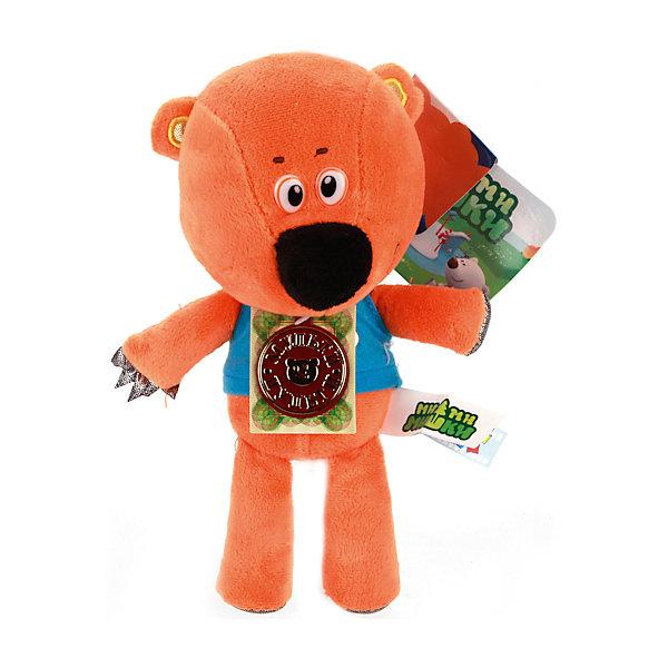 Мягкая игрушка Медвежонок Кешка, 20 см, Мульти-ПультиМягкие игрушки из мультфильмов<br>Игрушки могут не только развлекать малыша, но и помогать его всестороннему развитию. Эта игрушка поможет формированию разных навыков, он помогает развить тактильное восприятие, цветовосприятие, звуковосприятие и мелкую моторику.<br>Изделие представляет собой игрушку из приятного на ощупь материала со звуковым модулем - ребенок может надолго занять себя игрой с ней! Сделана игрушка из качественных материалов, безопасных для ребенка.<br><br>Дополнительная информация:<br><br>цвет: разноцветный;<br>материал: текстиль;<br>звуковой модуль;<br>высота: 20 см.<br><br>Мягкую игрушку Медвежонок Кешка, 20 см, от бренда Мульти-Пульти можно купить в нашем магазине.<br><br>Ширина мм: 90<br>Глубина мм: 290<br>Высота мм: 200<br>Вес г: 130<br>Возраст от месяцев: 36<br>Возраст до месяцев: 2147483647<br>Пол: Унисекс<br>Возраст: Детский<br>SKU: 5002246