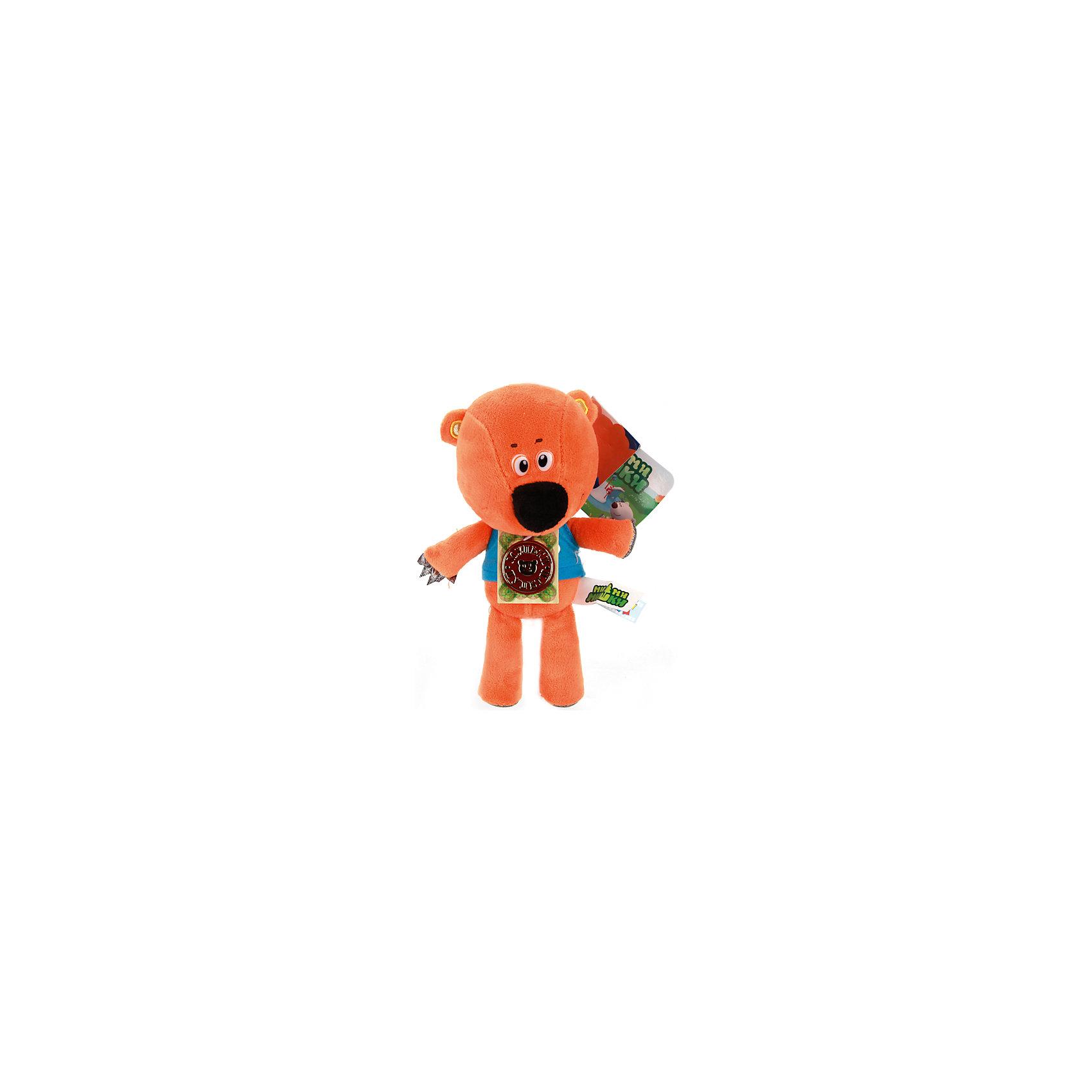 МУЛЬТИ-ПУЛЬТИ Мягкая игрушка Медвежонок Кешка, 20 см, Мульти-Пульти мульти пульти мягкая игрушка серый мышонок 23 см со звуком кот леопольд мульти пульти