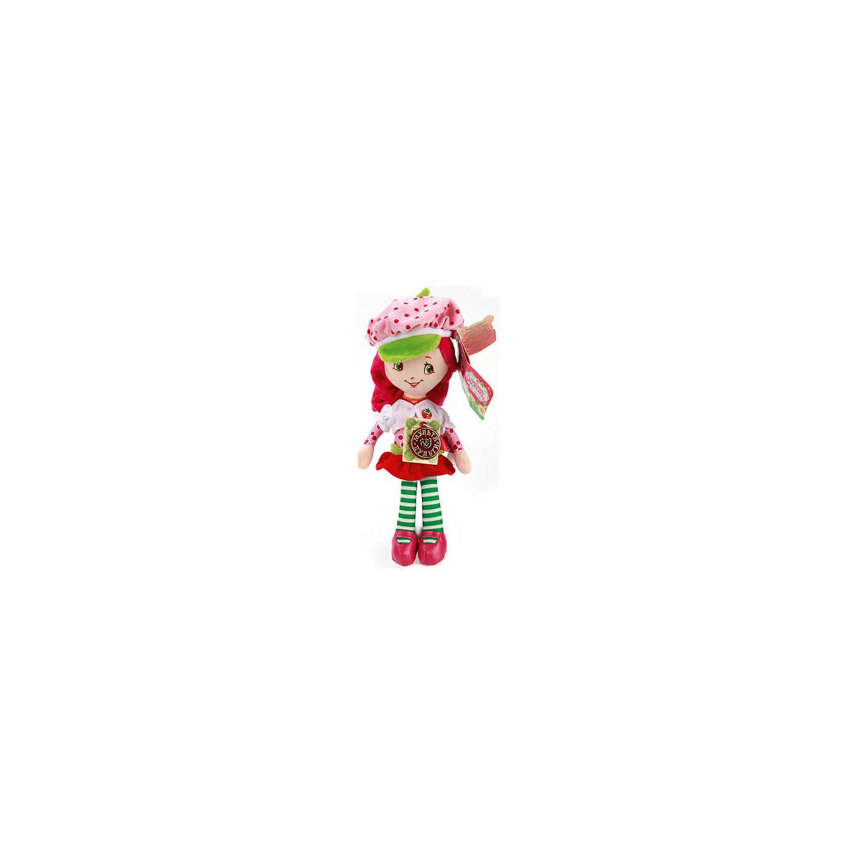 Мягкая игрушка Земляничка, 25 смЛюбимые герои<br>Игрушки могут не только развлекать малыша, но и помогать его всестороннему развитию. Эта игрушка поможет формированию разных навыков, он помогает развить тактильное восприятие, цветовосприятие, звуковосприятие и мелкую моторику.<br>Изделие представляет собой игрушку из приятного на ощупь материала со звуковым модулем - ребенок может надолго занять себя игрой с ней! Сделана игрушка из качественных материалов, безопасных для ребенка.<br><br>Дополнительная информация:<br><br>цвет: разноцветный;<br>материал: текстиль;<br>звуковой модуль;<br>высота: 25 см.<br><br>Мягкую игрушку Земляничка, 25 см, можно купить в нашем магазине.<br><br>Ширина мм: 80<br>Глубина мм: 370<br>Высота мм: 200<br>Вес г: 150<br>Возраст от месяцев: 36<br>Возраст до месяцев: 2147483647<br>Пол: Женский<br>Возраст: Детский<br>SKU: 5002247