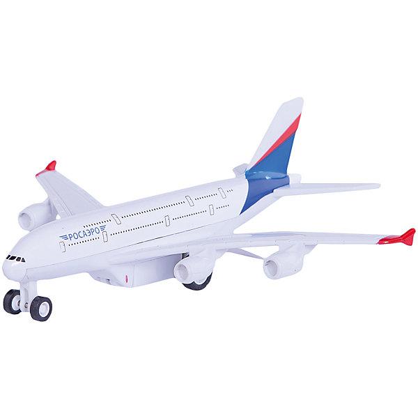 Самолет, ТехнопаркСамолёты и вертолёты<br>Характеристики:<br><br>• тип игрушки: самолет;<br>• возраст: от 3 лет;<br>• размер: 13х19х24 см;<br>• цвет: белый;<br>• материал: металл, пластик;<br>• бренд: Технопарк;<br>• страна производителя: Китай.<br><br>Технопарк «Самолет»  имеет оригинальный дизайн, повторяющий контур настоящей машины. Все детали лайнера проработаны до мелочей. Если нажать на кнопку на корпусе игрушки, фары самолета будут светиться. Машина также демонстрирует звуковые эффекты, это еще сильнее сближает ее с настоящей. Благодаря инерционному механизму движения лайнер может проехать солидное расстояние самостоятельно, стоит лишь толкнуть его вперед. <br><br>Тематические игры с интересными сюжетами разбудят воображение ребёнка, а манипуляции с игрушкой потренируют мелкую моторику пальцев рук. Масштабные модели от компании «Технопарк» отличаются качественными ударопрочными материалами, продлевающими долговечность изделия тщательным исполнением со вниманием ко всем деталям, и имеют требуемые сертификаты соответствия для детских игрушек.<br><br>Технопарк «Самолет»  можно купить в нашем интернет-магазине.<br>Ширина мм: 90; Глубина мм: 150; Высота мм: 210; Вес г: 220; Возраст от месяцев: 36; Возраст до месяцев: 2147483647; Пол: Мужской; Возраст: Детский; SKU: 5002249;