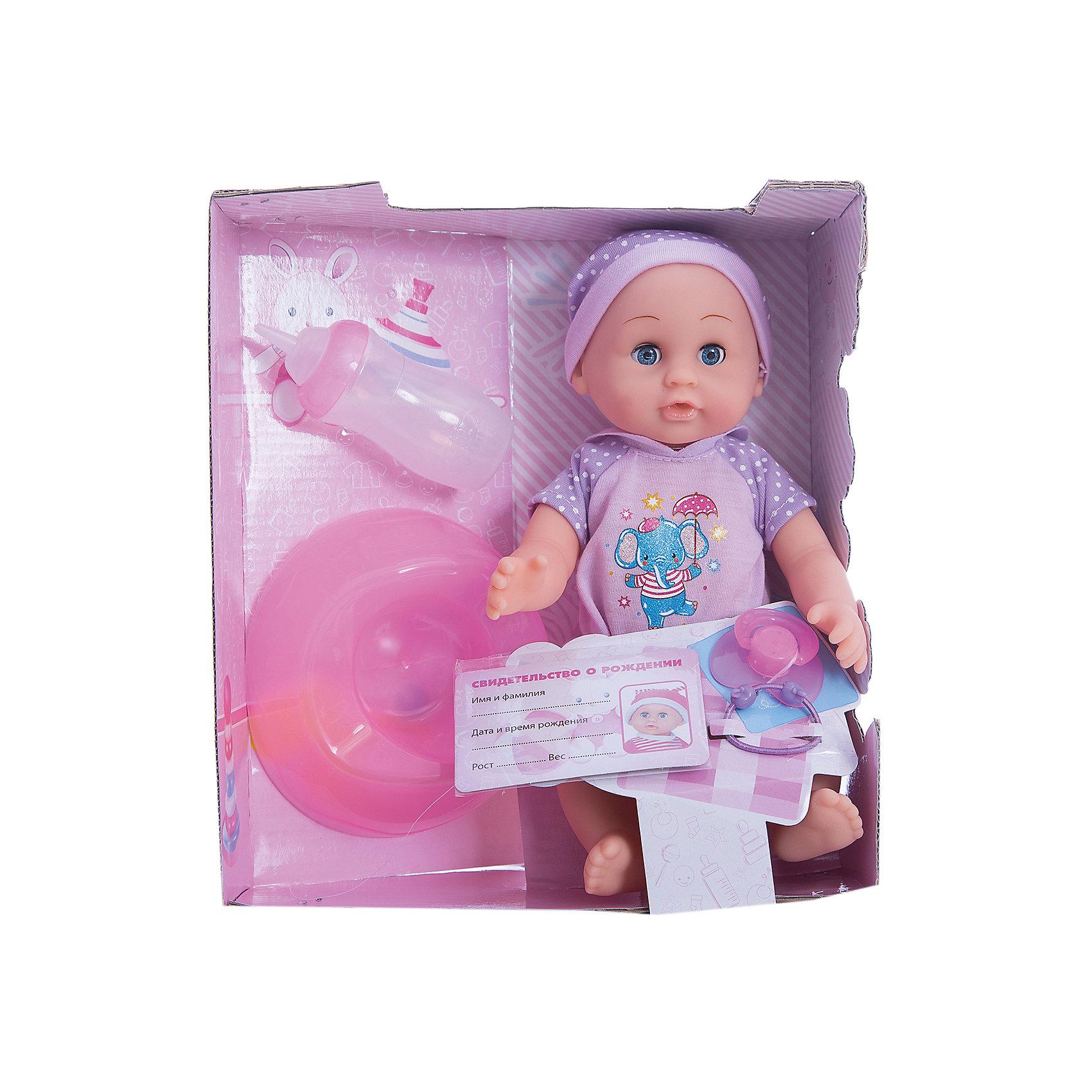 Пупс, 25 см, 3 функции, КарапузПорадовать девочку просто - подарите ей такую куклу. С её помощью девочка будет осваивать базовые навыки общения, ухода за собой и заботы о других.<br>Изделие представляет собой симпатичную куклу с хорошей детализацией из прочного пластика. Она умеет пить и писать, поэтому к ней прилагаются горшок, бутылочка и памперс! Изделие произведено из качественных материалов, безопасных для ребенка.<br><br>Дополнительная информация:<br><br>цвет: разноцветный;<br>материал: пластик, текстиль;<br>комплектация: кукла, одежда, горшок, соска;<br>размер упаковки: 120 x 250 x 250 мм.<br><br>Пупса, 25 см, 3 функции, от бренда Карапуз можно купить в нашем магазине.<br><br>Ширина мм: 120<br>Глубина мм: 250<br>Высота мм: 220<br>Вес г: 520<br>Возраст от месяцев: 36<br>Возраст до месяцев: 2147483647<br>Пол: Женский<br>Возраст: Детский<br>SKU: 5002253