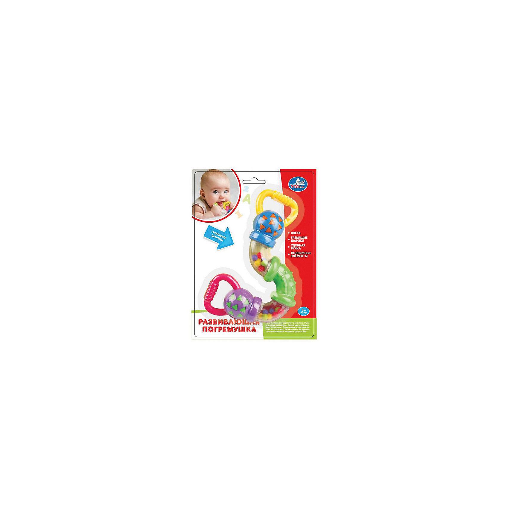 Погремушка вращающаяся, УмкаПогремушки<br>Игрушки могут не только развлекать малыша, но и помогать его всестороннему развитию. Эта игрушка поможет формированию разных навыков, он помогает развить тактильное восприятие, цветовосприятие, воображение и мелкую моторику.<br>Изделие представляет собой игрушку, которую можно вращать и греметь ею. С её помощью ребенок сможет надолго занять себя! Изделие произведено из качественных материалов, безопасных для ребенка.<br><br>Дополнительная информация:<br><br>цвет: разноцветный;<br>материал: пластик;<br>размер упаковки: 50 x 210 x 150 мм.<br><br>Погремушку вращающуюся от бренда Умка можно купить в нашем магазине.<br><br>Ширина мм: 50<br>Глубина мм: 210<br>Высота мм: 150<br>Вес г: 130<br>Возраст от месяцев: 36<br>Возраст до месяцев: 2147483647<br>Пол: Унисекс<br>Возраст: Детский<br>SKU: 5002255