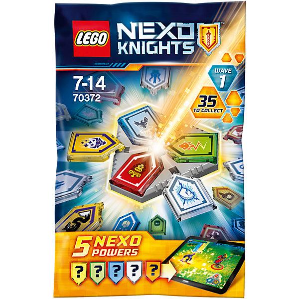 LEGO NEXO KNIGHTS 70372: Комбо NEXO Силы - 1 полугодиеПластмассовые конструкторы<br>LEGO NEXO KNIGHTS 70372: Комбо NEXO Силы - 1 полугодие<br><br>Характеристики:<br><br>- в набор входит: 5 защитных сил, щит, красочная инструкция<br>- состав: пластик<br>- количество деталей: 10<br>- высота доспеха: 9 см.<br>- для детей в возрасте: от 7 до 14 лет<br>- Страна производитель: Дания/Китай/Чехия<br><br>Легендарный конструктор LEGO (ЛЕГО) представляет серию «NEXO KNIGHTS» (Нэксо Найтс) по сюжету одноименного мультсериала. Серия понравится любителям средневековья благодаря рыцарям, принцессам, монстрам и ужасным злодеям. Первая волна из тридцати пяти Нексо сил 2017 года уже здесь! Всего существует больше трехсот различных сил, которые помогут рыцарям в битве. Силы нужны для использования в приложении LEGO NEXO KNIGHTS МЕРЛОК 2.0 и прохождения игры про новые приключения рыцарей. На этот раз им противостоят каменные монстры с Монстроксом во главе. Можно сканировать силы в приложение по одной, а можно скомбинировать три силы с помощью щита на свое усмотрение и получить уникальную силу. Цвет Нексо силы соответствует рыцарям по цвету доспеха, в каждом пакетике по одной Нексо силе на каждого из рыцарей. Собрав шесть щитов можно собрать шар с силами. Какие силы попадутся в этом пакетике-сюрпризе не известно, остается только открыть его! Помогай рыцарям бороться с каменными монстрами с помощью прогресса и невероятной Нексо силы!<br><br>Детали LEGO NEXO KNIGHTS 70372: Комбо NEXO Силы - 1 полугодие можно купить в нашем интернет-магазине.<br><br>Ширина мм: 90<br>Глубина мм: 10<br>Высота мм: 140<br>Вес г: 17<br>Возраст от месяцев: 84<br>Возраст до месяцев: 168<br>Пол: Мужской<br>Возраст: Детский<br>SKU: 5002412