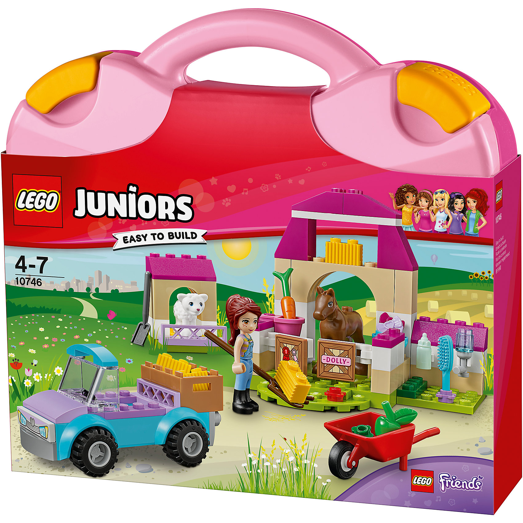 LEGO Juniors 10746: Чемоданчик «Ферма Мии» от myToys