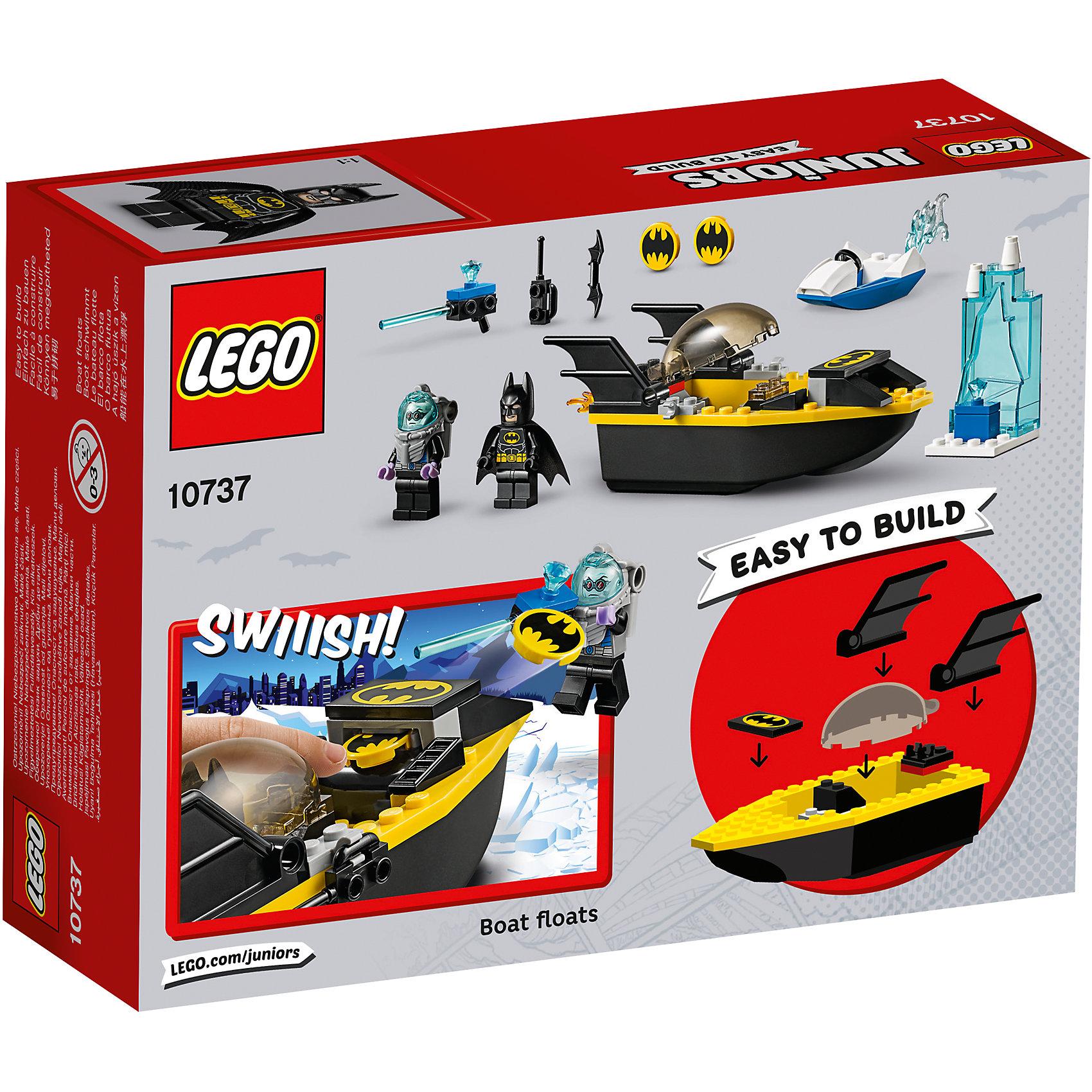 LEGO Juniors 10737: Бэтмен против Мистера Фриза от myToys