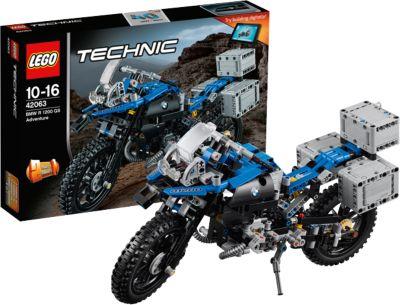 Lego Technic 42063: Приключения На Bmw R 1200 Gs