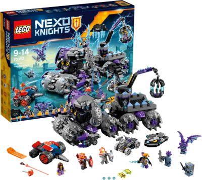 LEGO NEXO KNIGHTS 70352: Штурмовой разрушитель Джестро фото-1