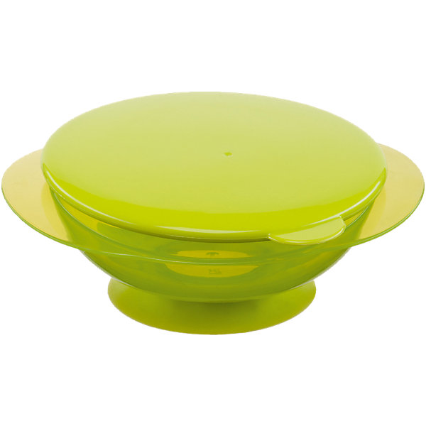 Тарелка на присоске с крышкой FEEDING BOWL, Happy Baby, лаймДетская посуда<br>Удобная тарелка на присоске станет незаменимым помощником во время кормления. Тарелка прочно крепится к поверхности стола, исключая опрокидывание, практичная крышка не позволит пище остыть.  Пластиковая посуда удобна и проста в использовании, она не бьется, поэтому идеально подходит для кормления малышей. Тарелка Feedin Bowl выполнена из высококачественных экологичных материалов абсолютно безопасных для детей. <br><br> В товар входит:<br>-тарелка<br>-крышка<br><br>Дополнительная информация:<br><br>- Материал: полипропилен, термопластичный эластомер<br>- Размер: 7х17х15 см. <br>- Герметичная крышка.<br>- Нескользящее дно с присоской.<br>- Удобные ручки.<br>- Не подходит для использования в СВЧ.<br>-Цвет: лайм<br>-Бренд: Happy Baby (Хеппи Беби)<br><br>Тарелку на присоске с крышкой FEEDING BOWL, Happy Baby (Хеппи Беби), можно купить в нашем магазине.<br><br>Ширина мм: 65<br>Глубина мм: 170<br>Высота мм: 205<br>Вес г: 106<br>Возраст от месяцев: 8<br>Возраст до месяцев: 36<br>Пол: Унисекс<br>Возраст: Детский<br>SKU: 5003643